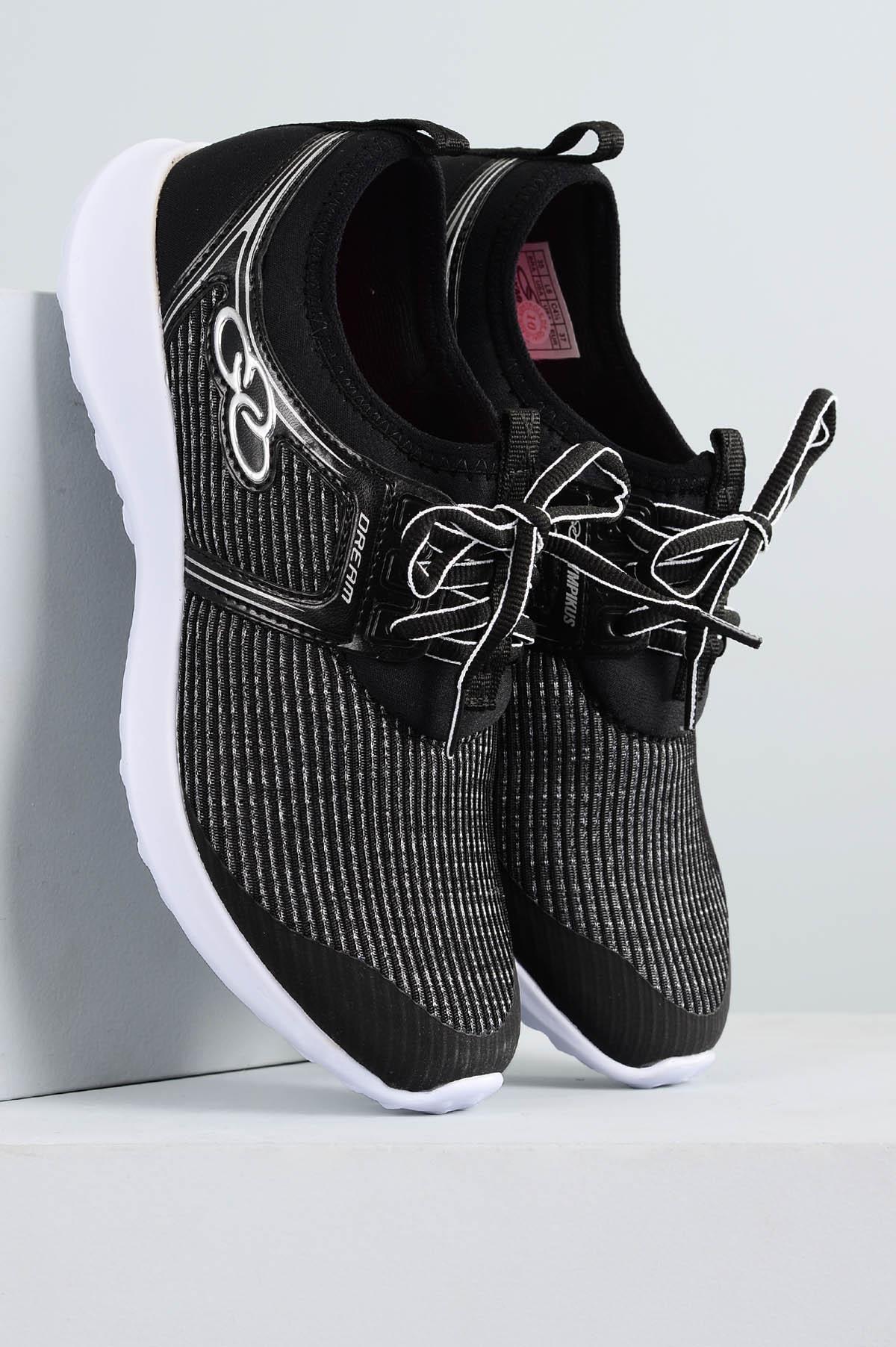 Tênis Feminino Olympikus Dream TEC - PRETO - Mundial Calçados e52f3b6ed1