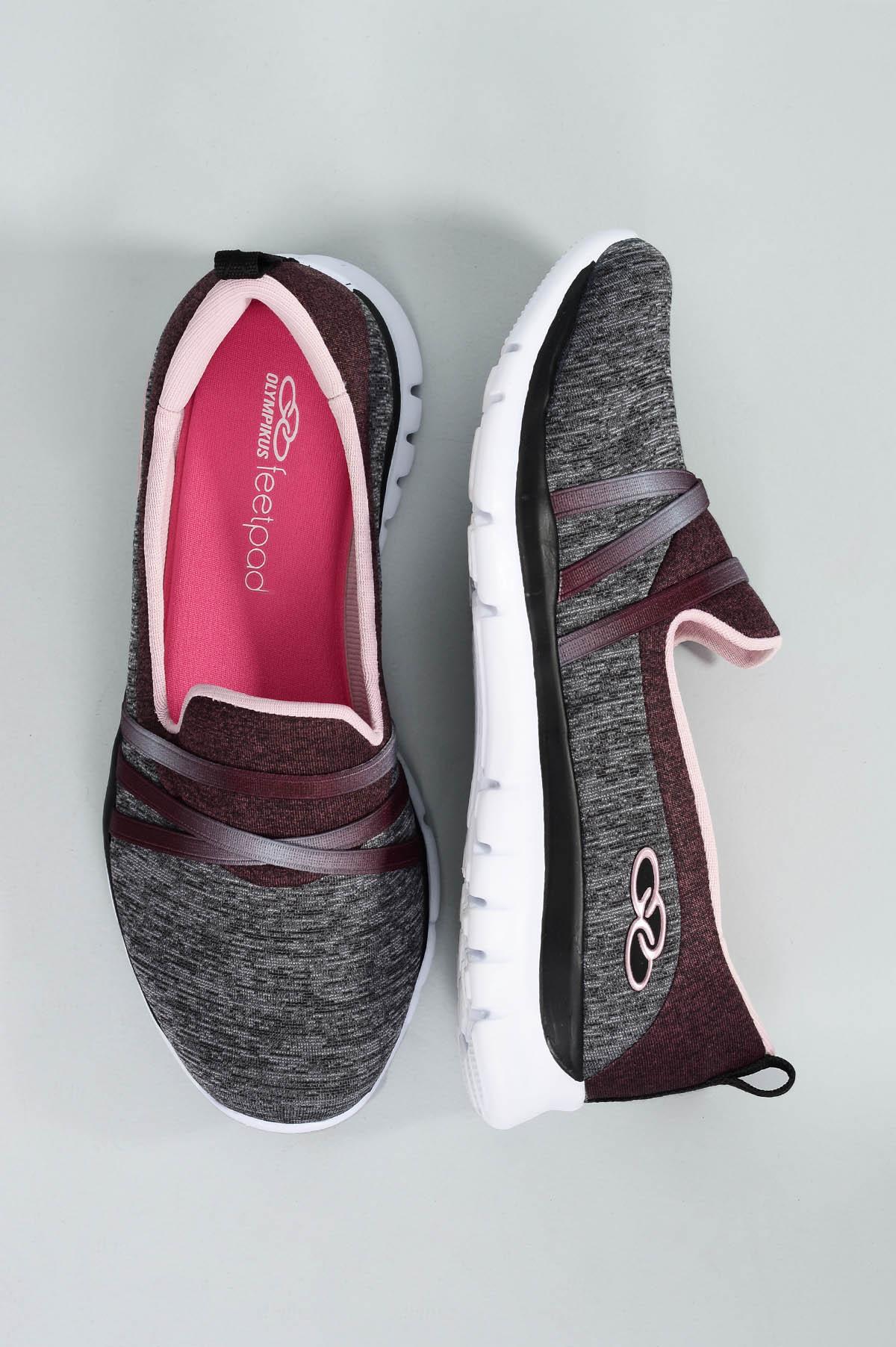 5f328faab7 Tênis Feminino Olympikus Angel Stripe TECIDO CHUMBO - Mundial Calçados