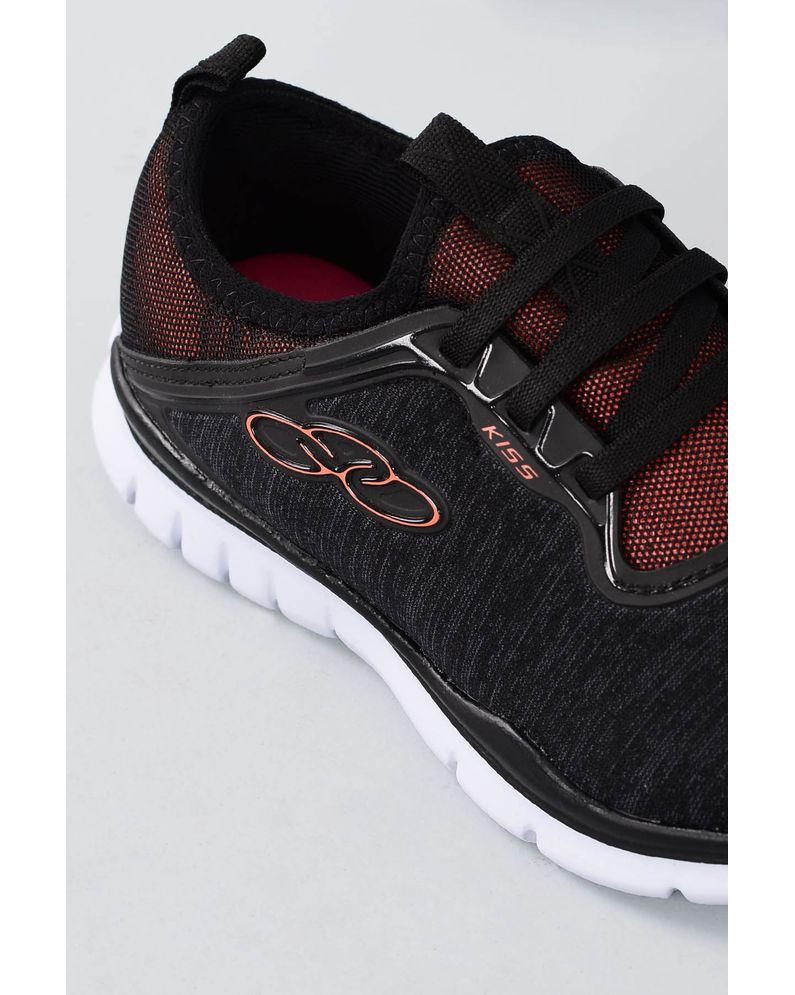 4a13567932f Tênis Feminino Olympikus Kiss TEC - PRETO - Mundial Calçados