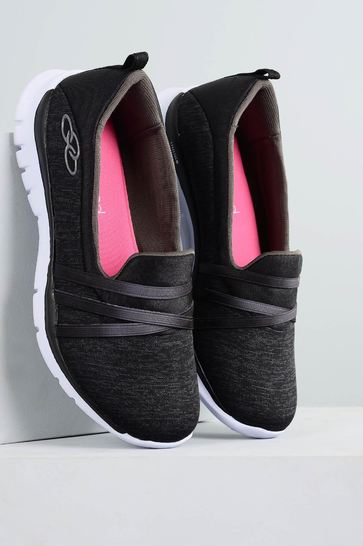 0f3423285c3 Tênis Feminino Olympikus Angel Stripe TEC - PRETO - Mundial Calçados