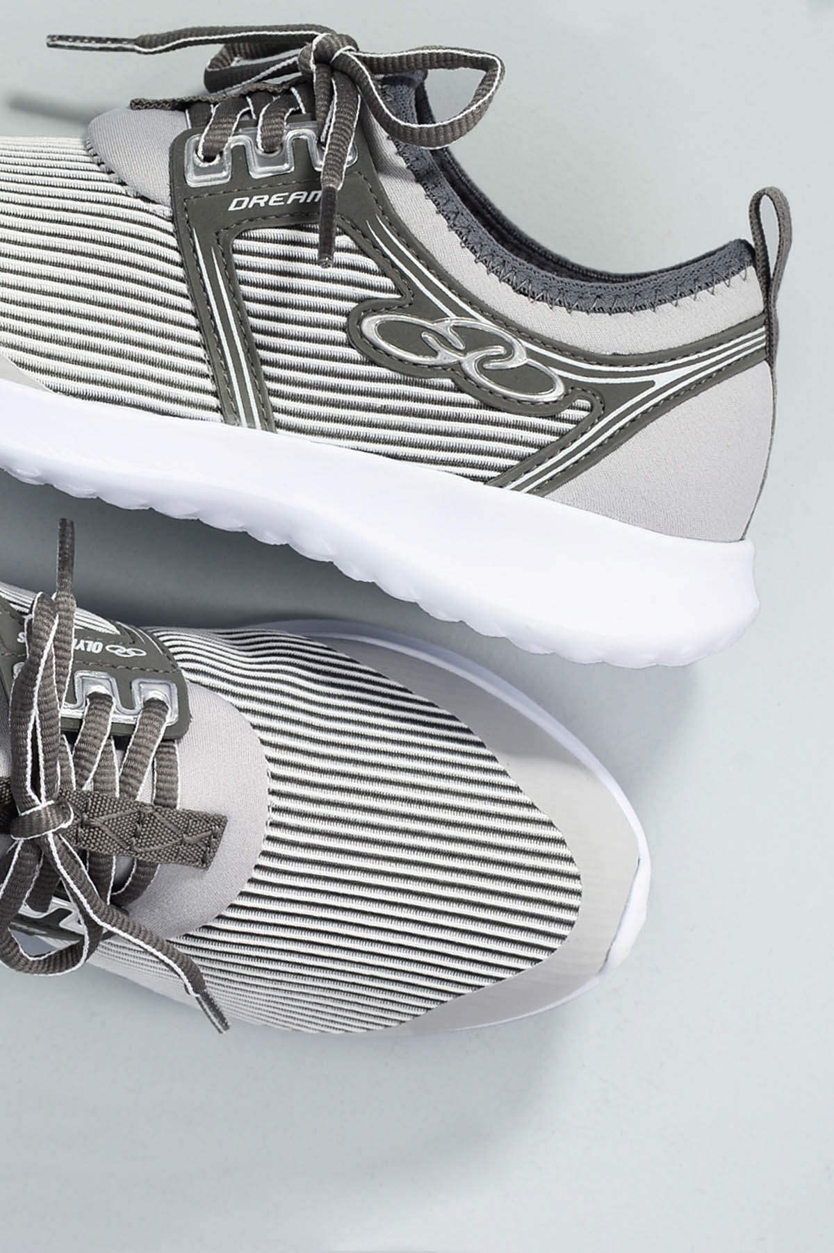 Tênis Feminino Olympikus Dream TEC - CINZA - Mundial Calçados db969142a0