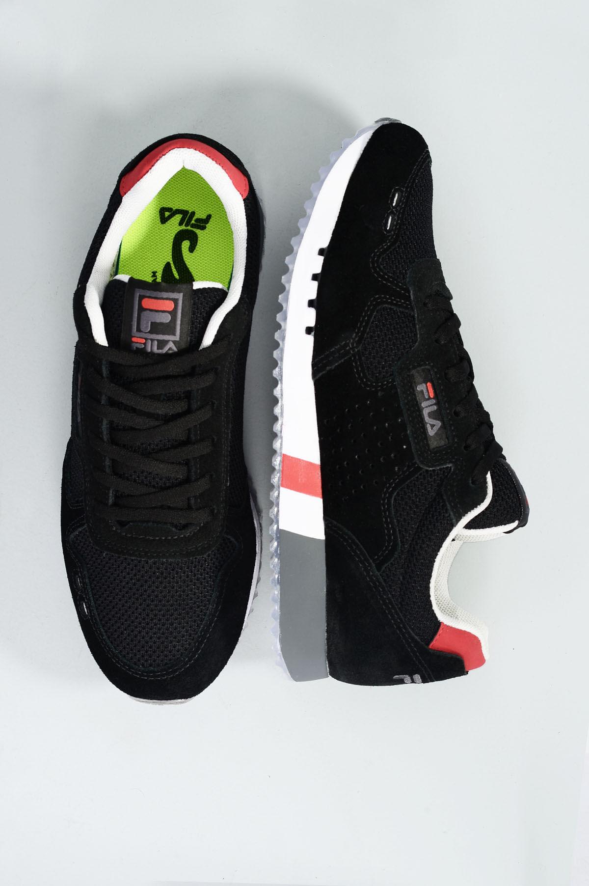 d5ef92e1422 Tênis Masculino Fila Classic 92 Ss CAM - PRETO - Mundial Calçados