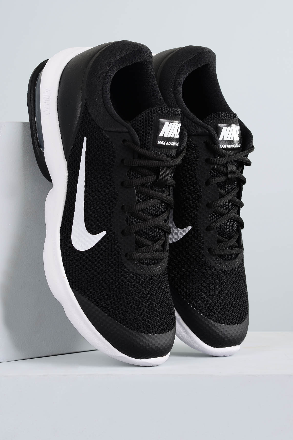 c6145298906 Tênis Masculino Nike Air Max Advantage TEC - PRETO - Mundial Calçados