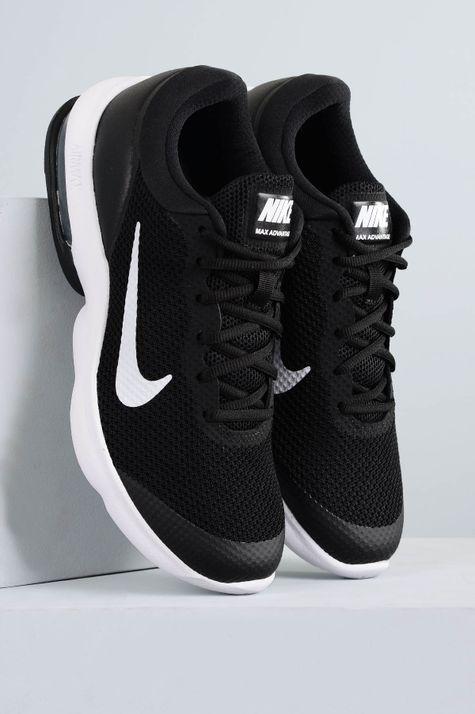 Tênis Masculino Nike Air Max Advantage TEC - PRETO - Mundial Calçados 7bf66a61f70a0