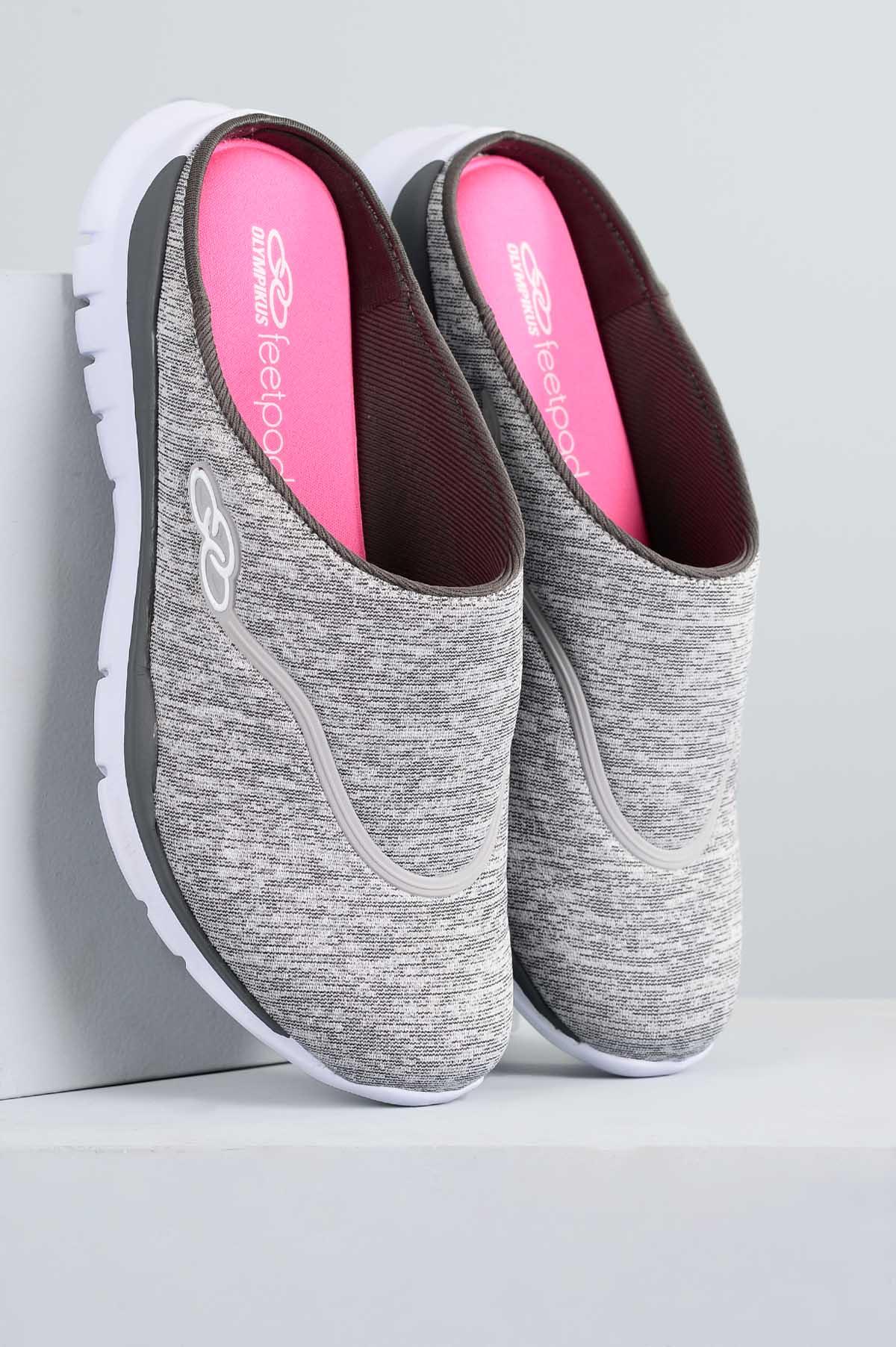 3811391b33d Tênis Feminino Olympikus Feel TEC - CINZA - Mundial Calçados