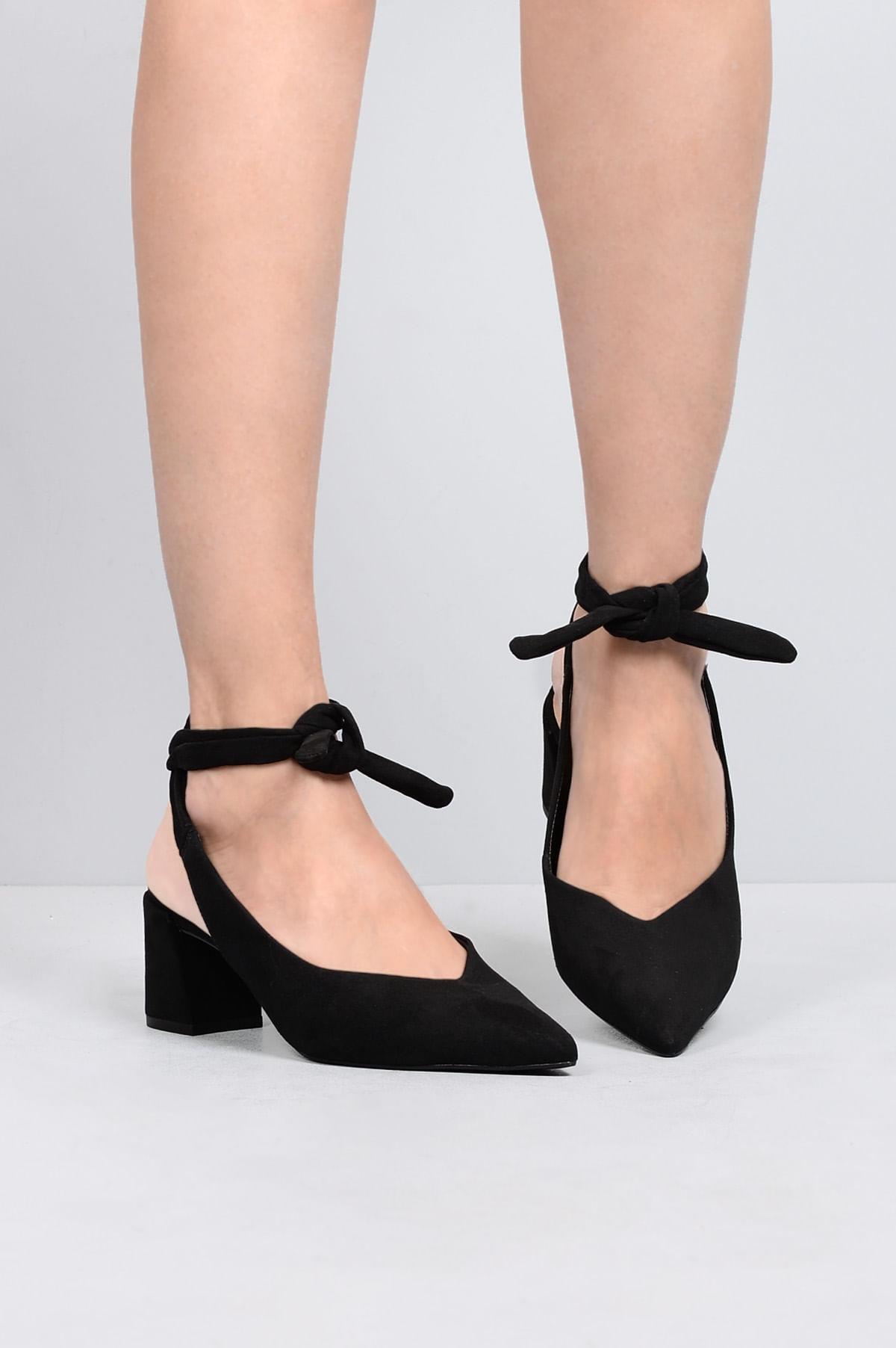 4c1b014ec6 Sapato Feminino Salto Médio Miley Mundial CAM - PRETO - Mundial Calçados