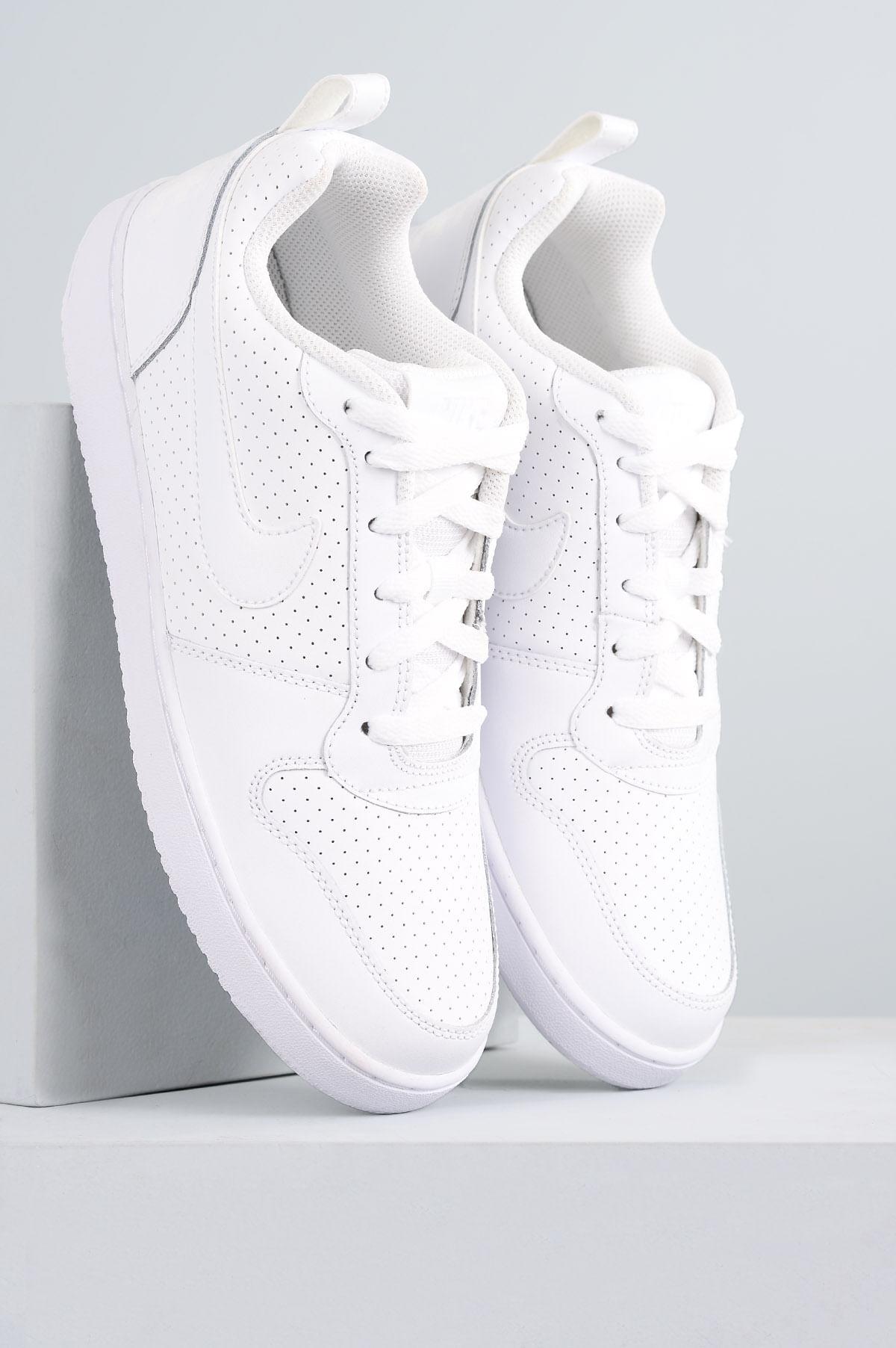 Tênis Nike Court Borough Low SINT - BRANCO - Mundial Calçados 13d700f9b4b2d