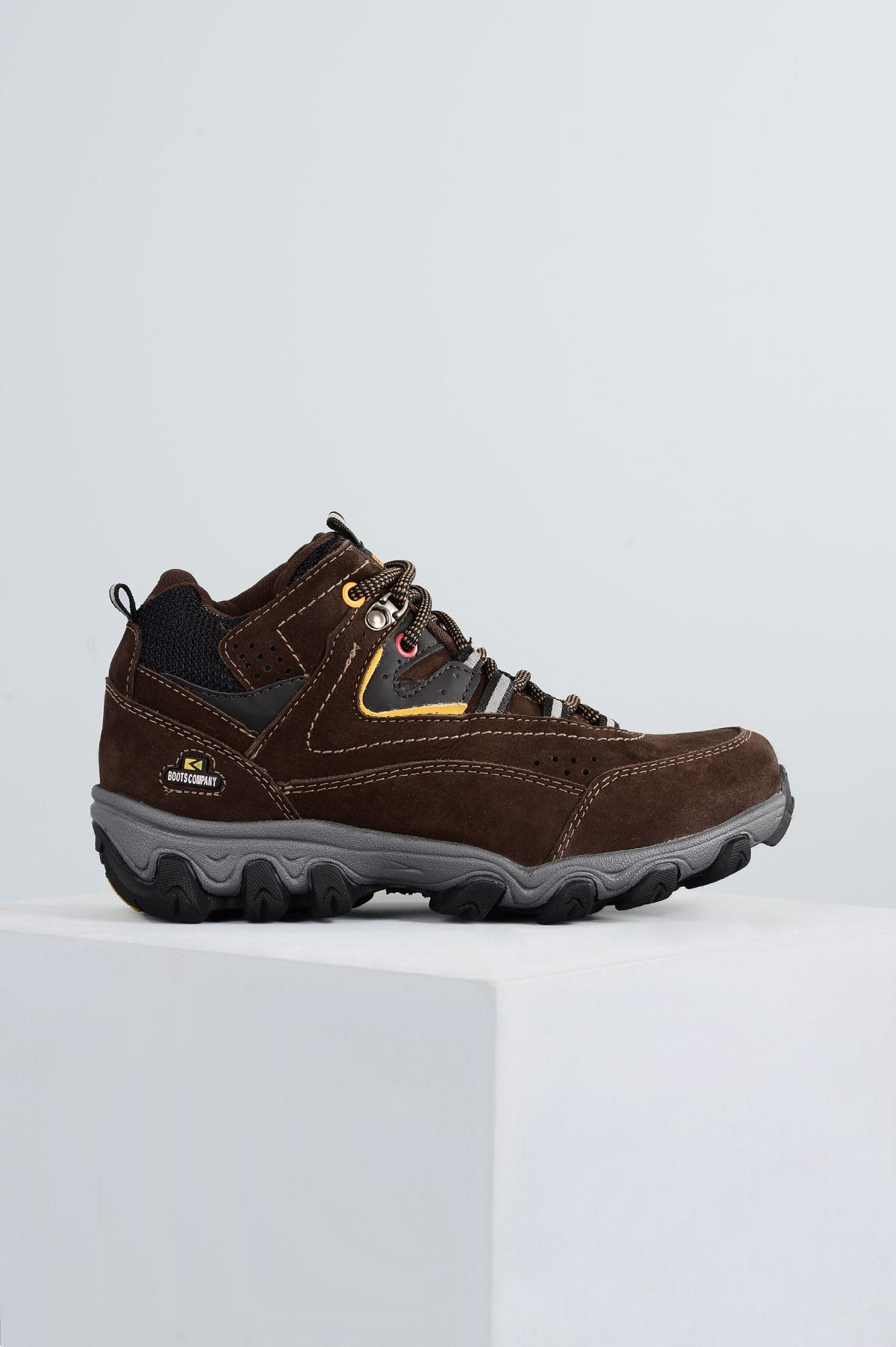 d75efaf862a Bota Masculina Boots Company Trainer XT CRAZY HORSE CAFE - Mundial ...