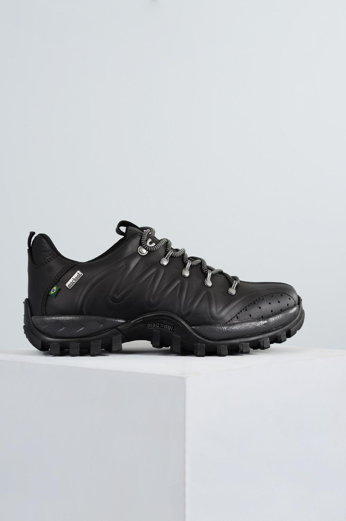 15746b91960d58 Bota Masculina Mac Boot Trujilo CR - GRAFITE - Mundial Calçados