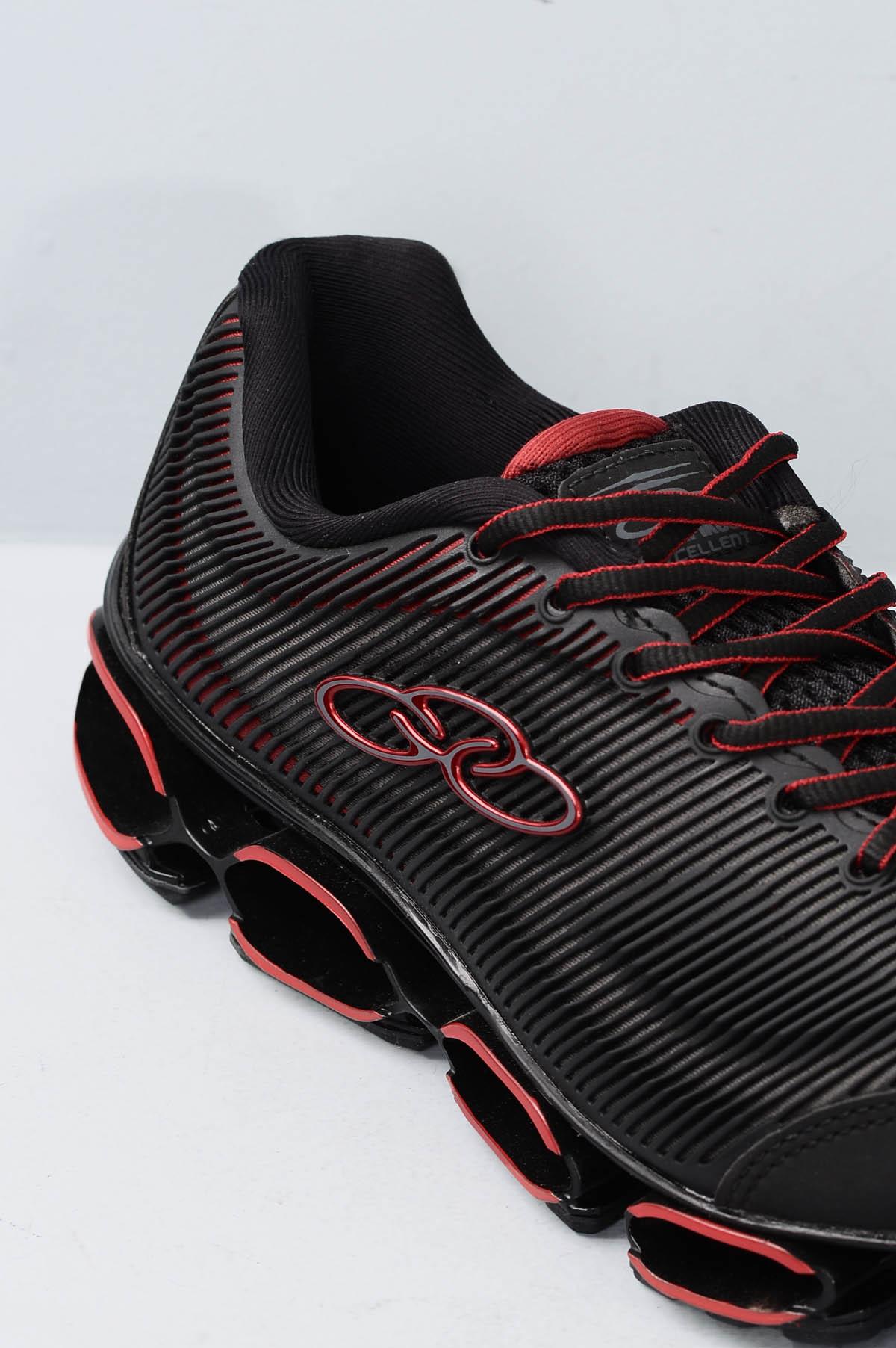 519c6caabef Tênis Masculino Olympikus Excelent SINT - PRETO - Mundial Calçados