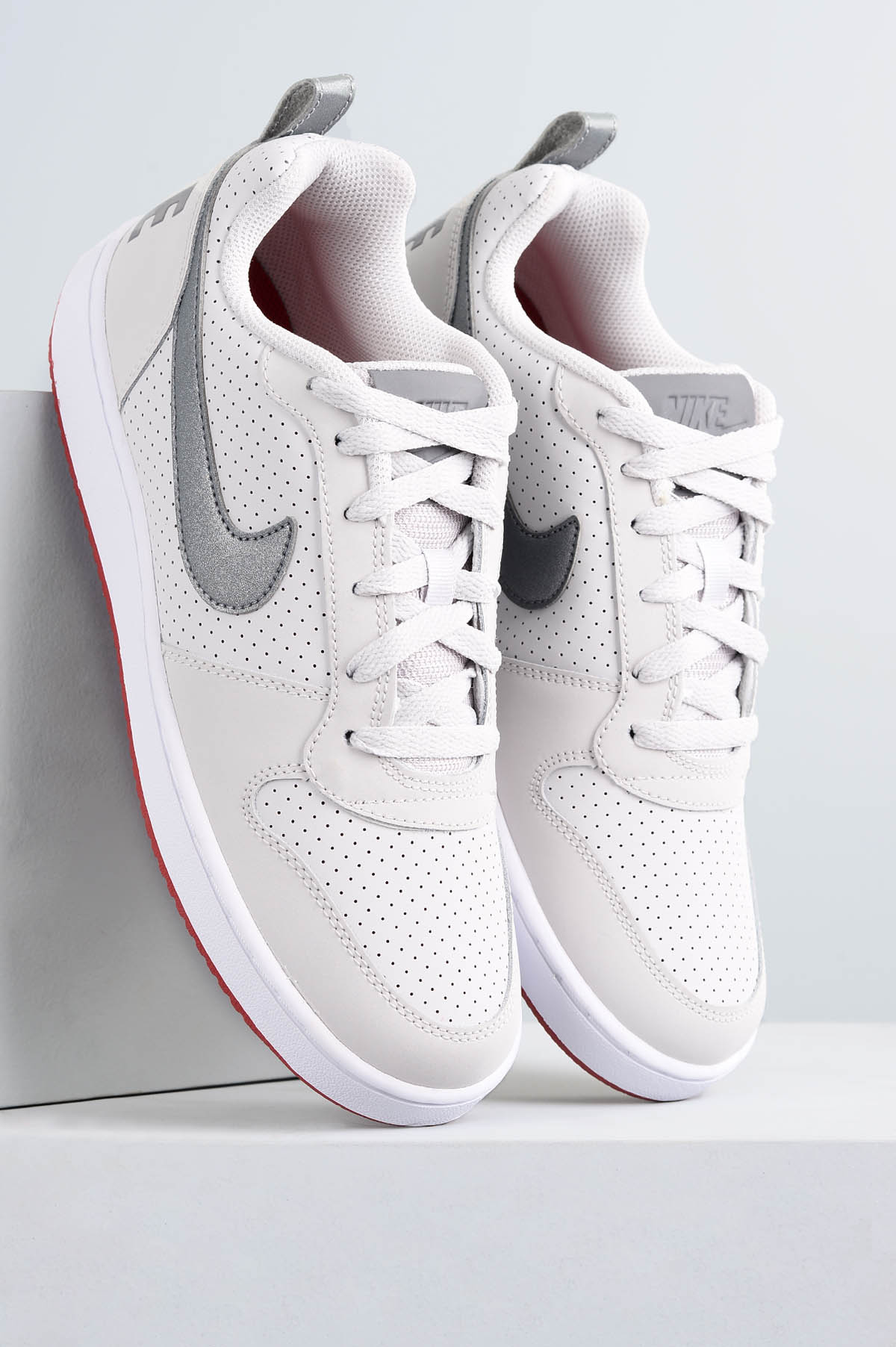 Tênis Nike Court Borough Low DIVERSOS - PRATA - Mundial Calçados c270100308c57