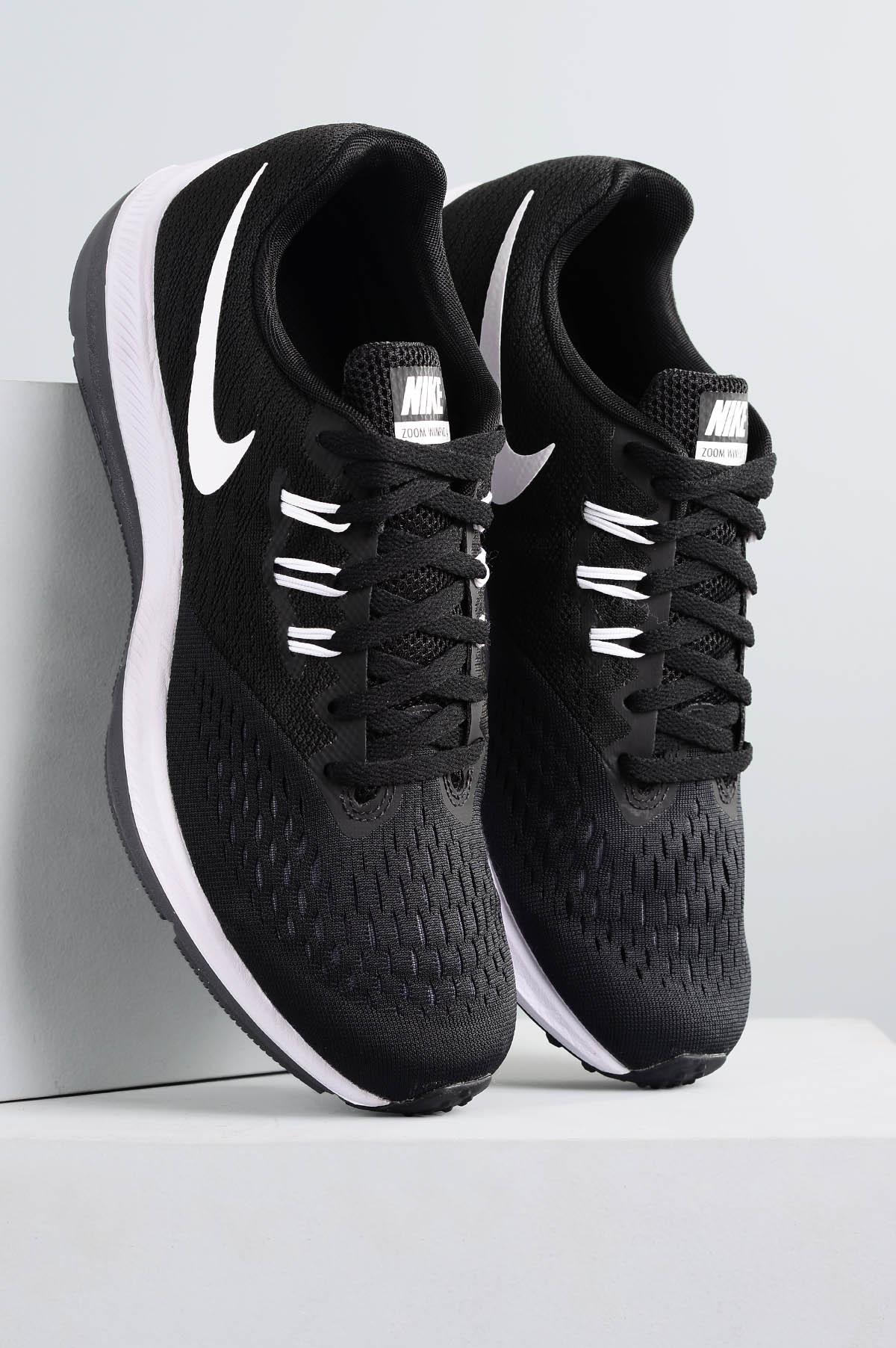 f658a898133 Tênis Masculino Nike Zoom Winflo 4 TEC - PRETO - Mundial Calçados