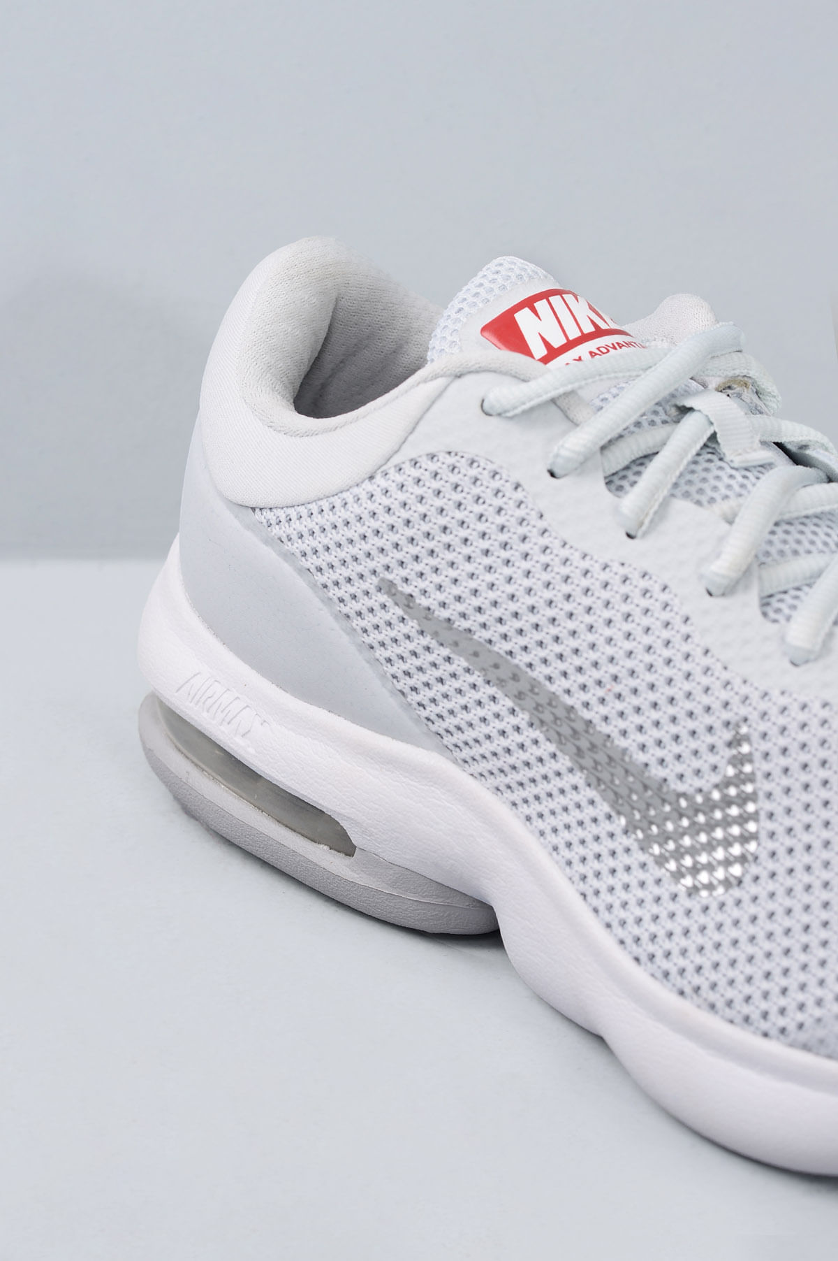 Tênis Masculino Nike Air Max Advantage Tec Prata Mundial