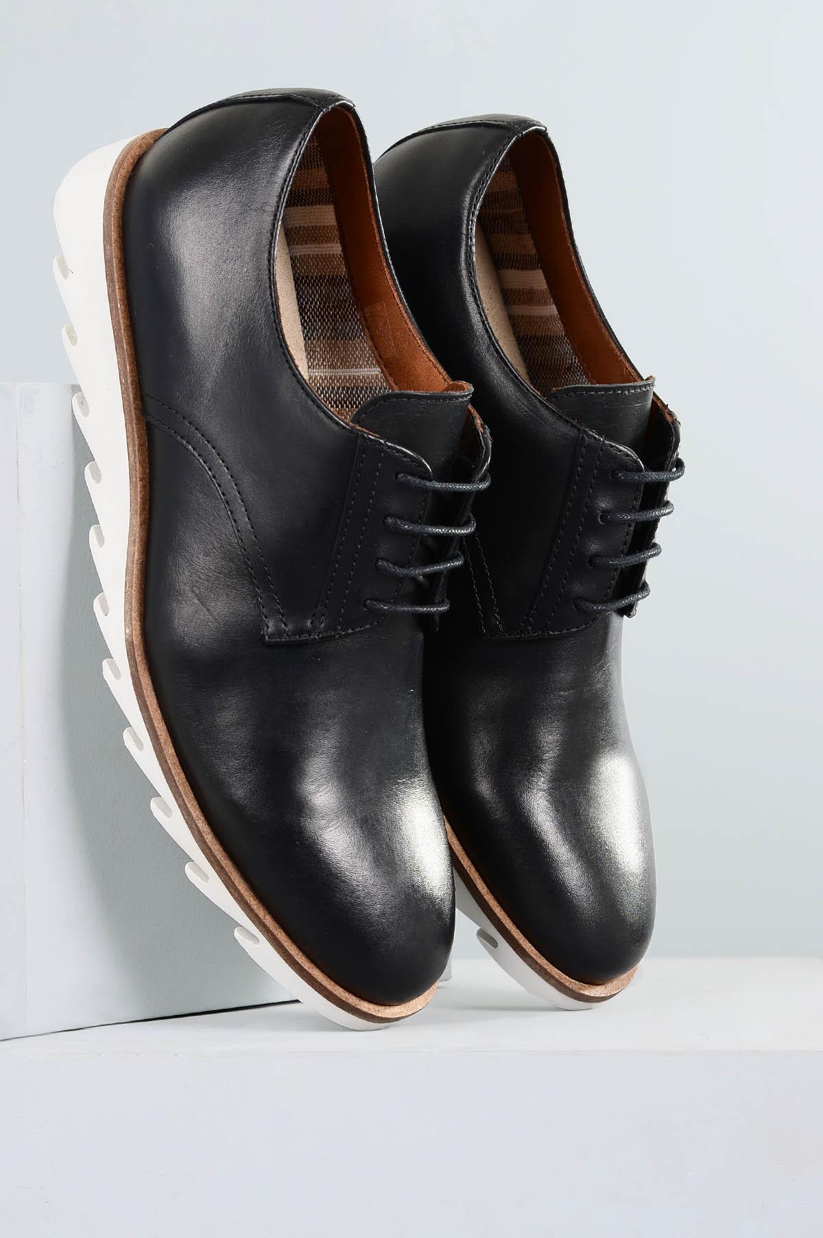 a2dbdfdac Sapato Masculino Moisés Mundial CR-PRETO - Mundial Calçados
