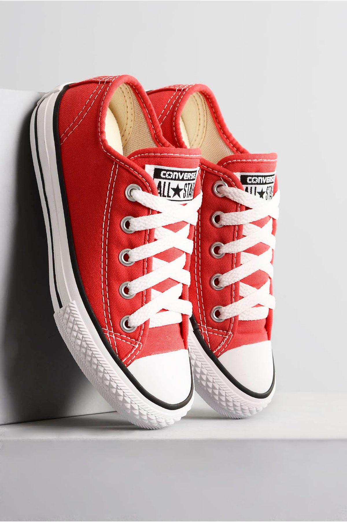 ca06bcb561b Tênis Infantil All Star Teen TEC - VERMELHO - Mundial Calçados