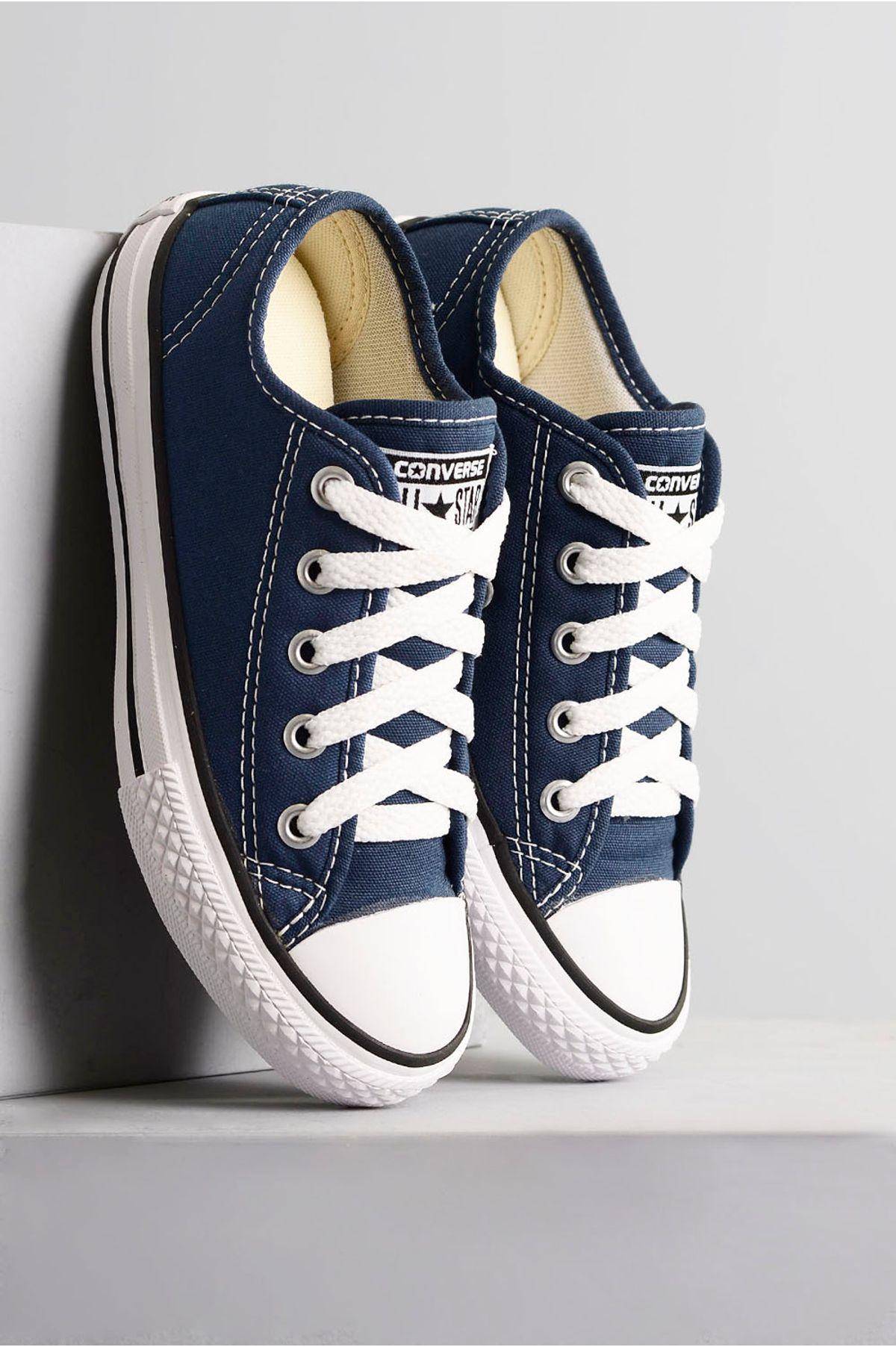 a9697d9019 Tênis Infantil All Star Teen TEC - MARINHO - Mundial Calçados