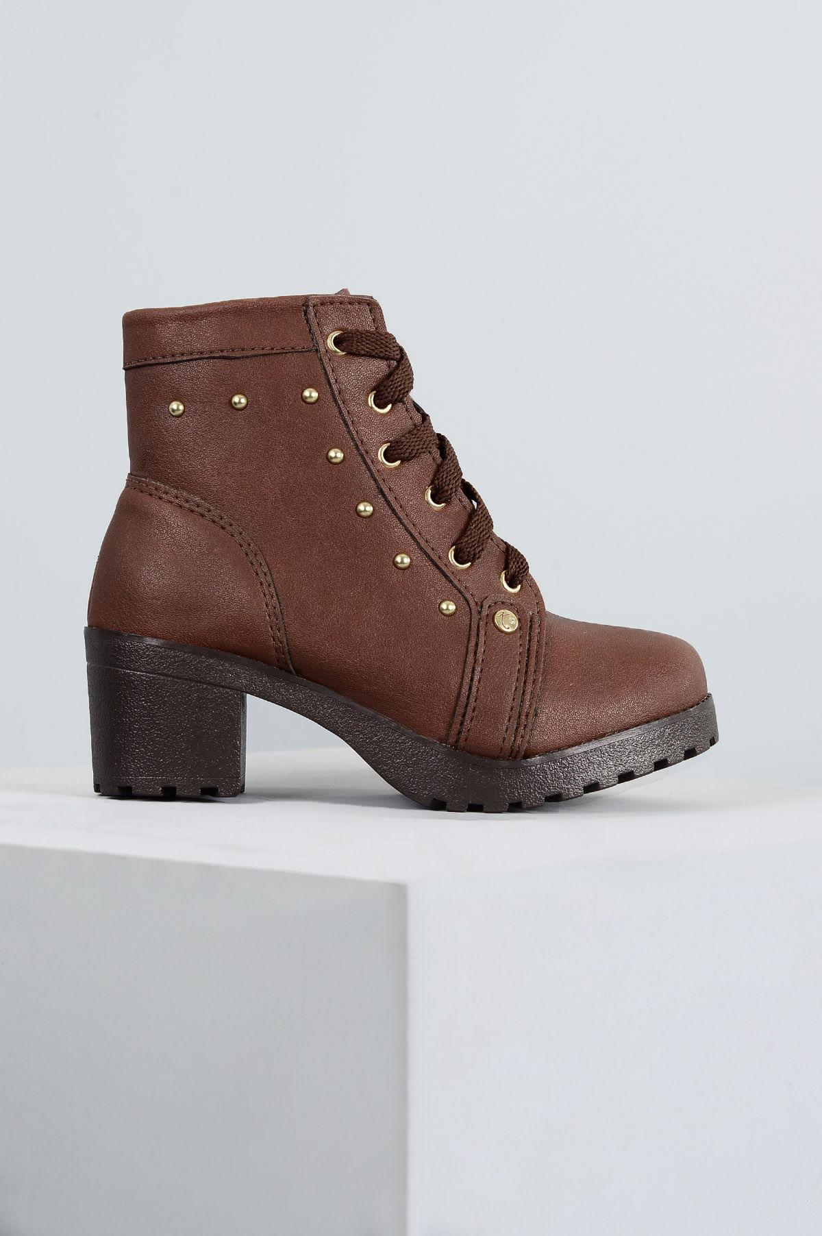 2f922080e Bota Infantil Klassipé Luly SINT - MARRON - Mundial Calçados