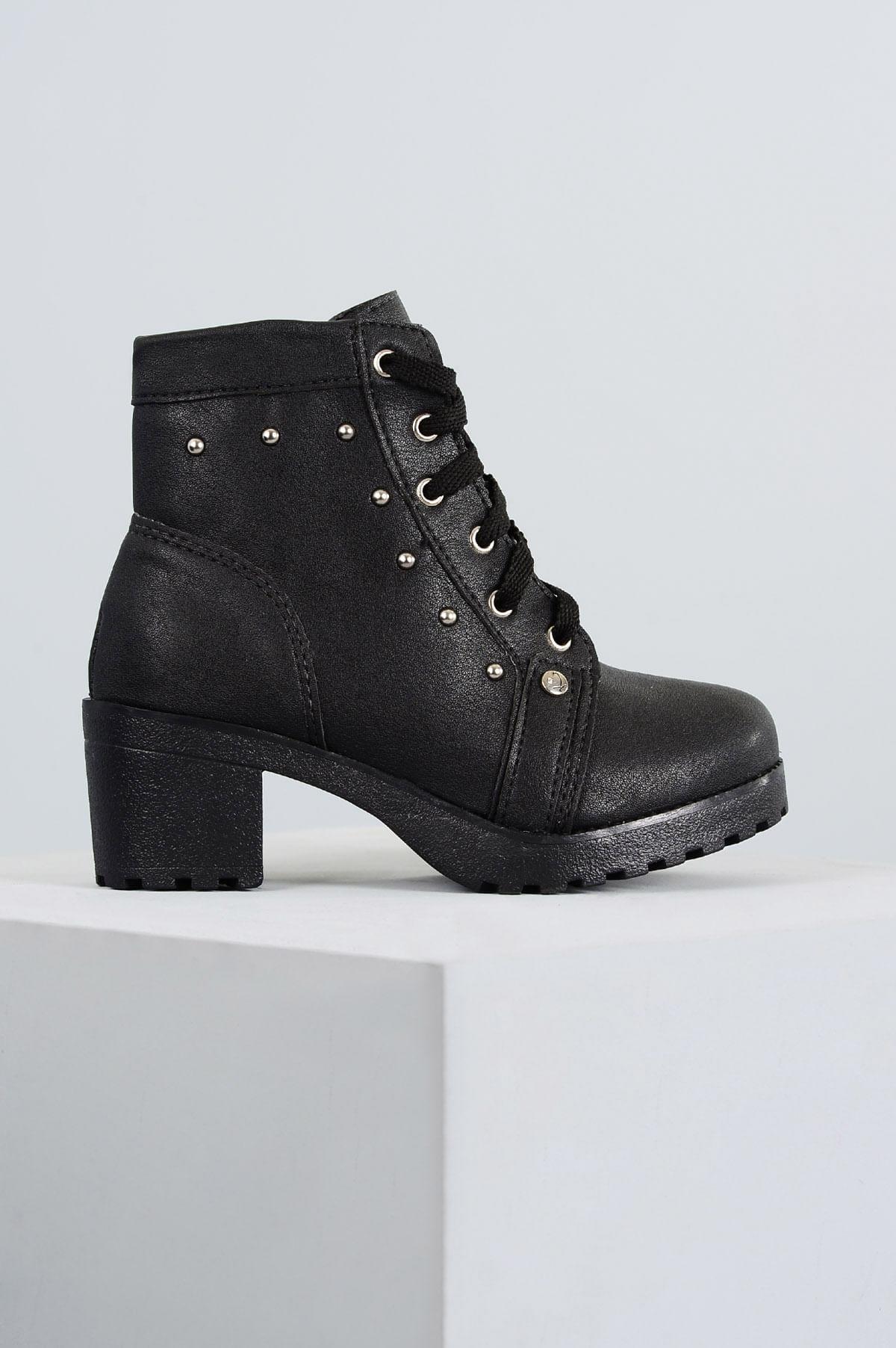 d3c6cf550 Bota Infantil Klassipé Luly SINT - PRETO - Mundial Calçados
