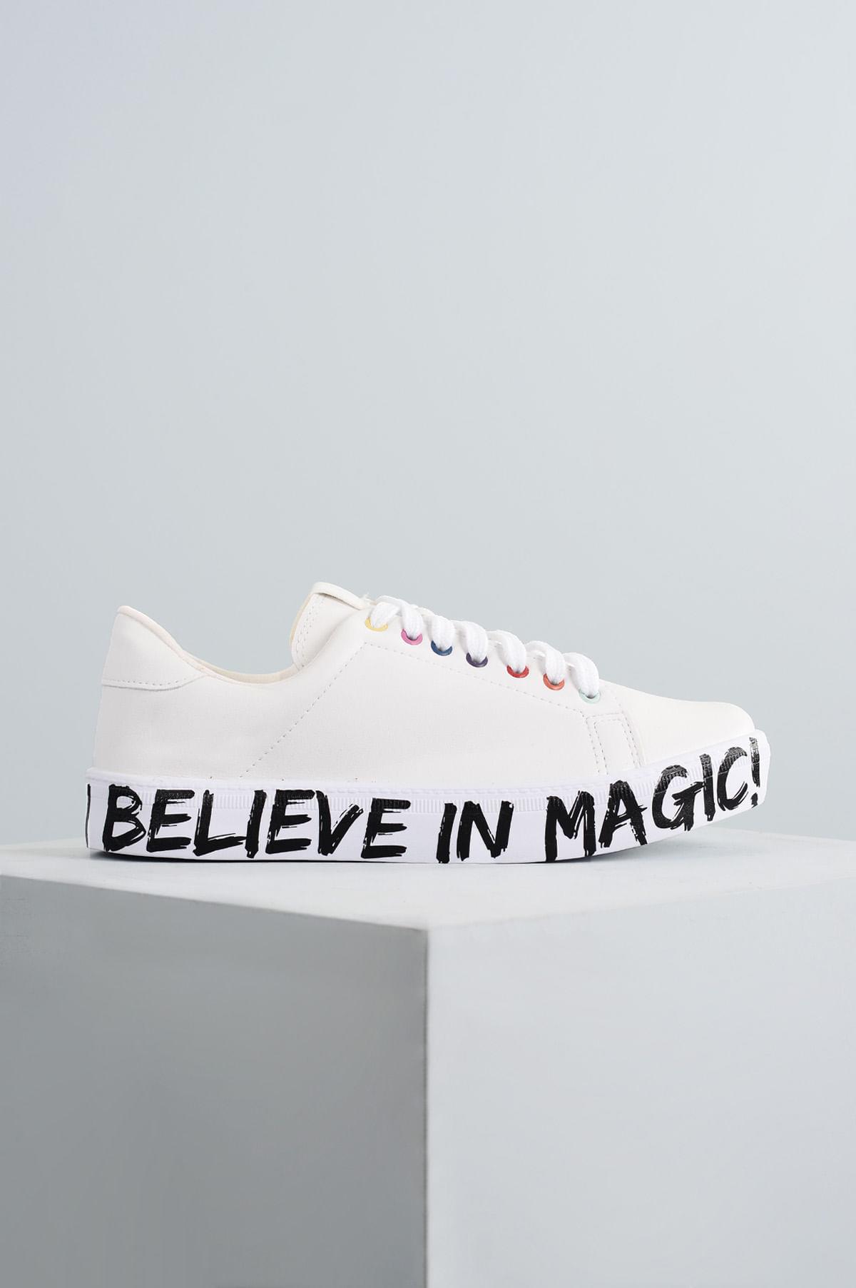 e80ccc0f1 Tênis Feminino Believe Mundial SINT - BRANCO - Mundial Calçados