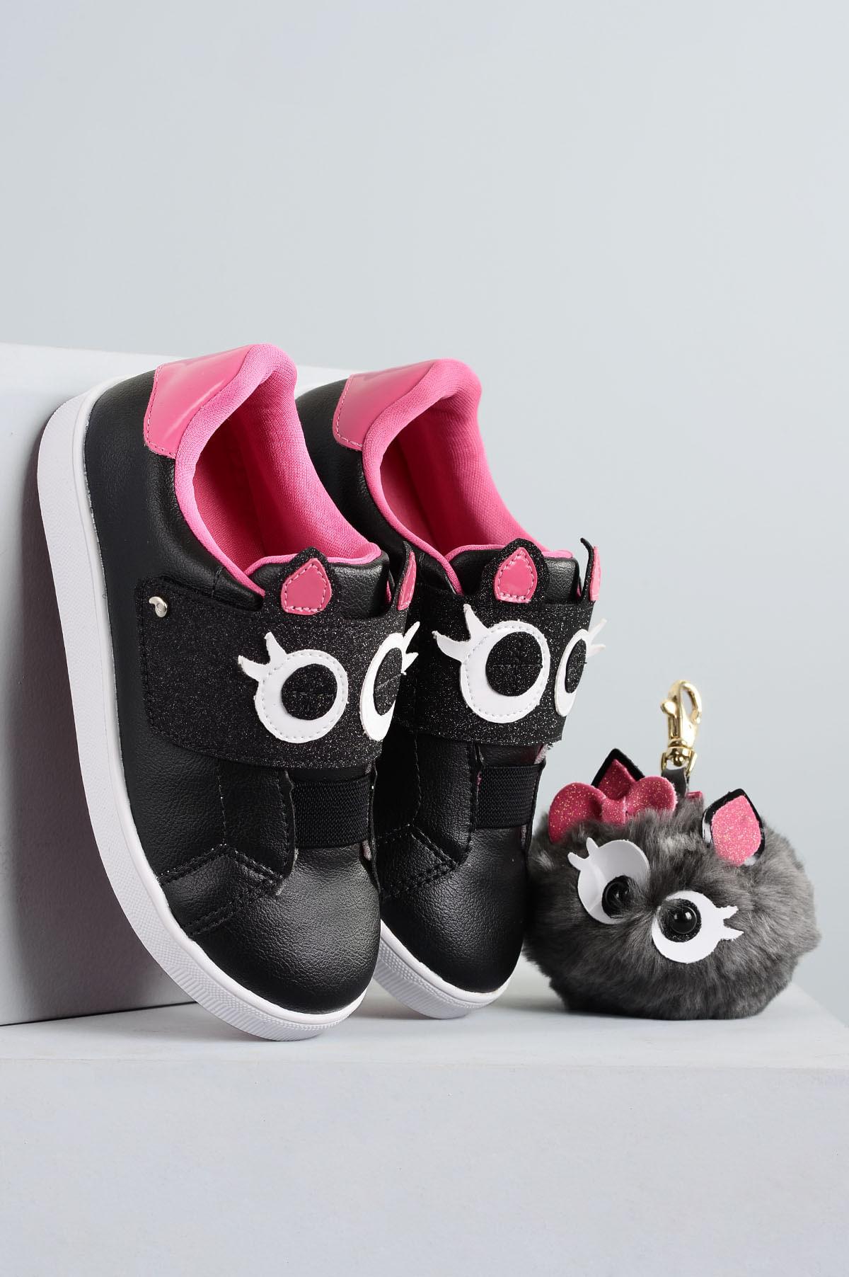 2edd12162 Tênis Infantil Pampili Nadja SINT - PINK - Mundial Calçados
