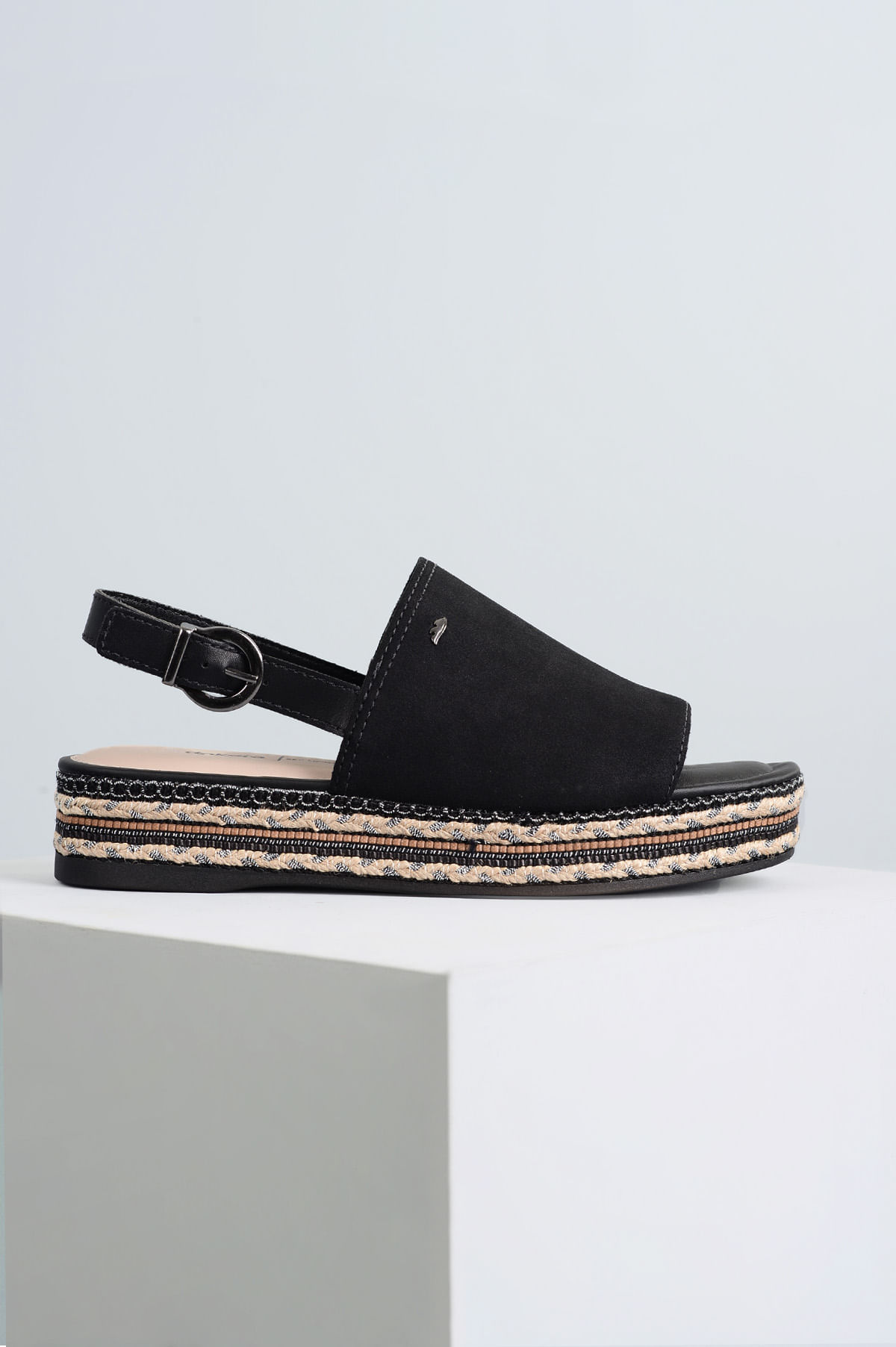 9a44105f29 Sandália Feminina Plataforma Paige Dakota CAM - PRETO - Mundial Calçados