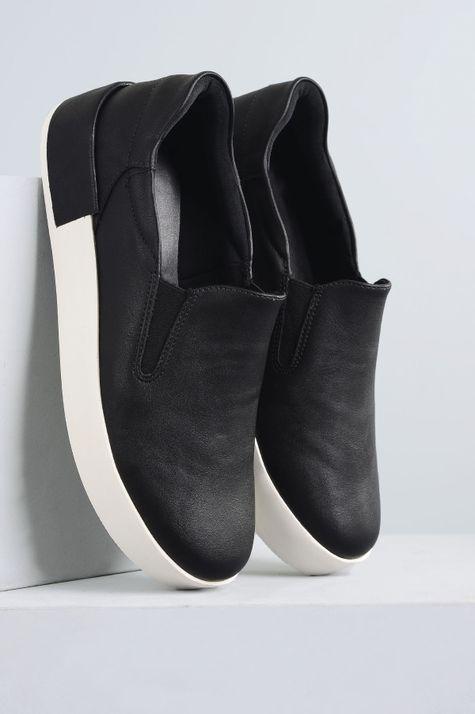 7904cfb846 Slipper Feminino Venix Mundial SINT - PRETO - Mundial Calçados