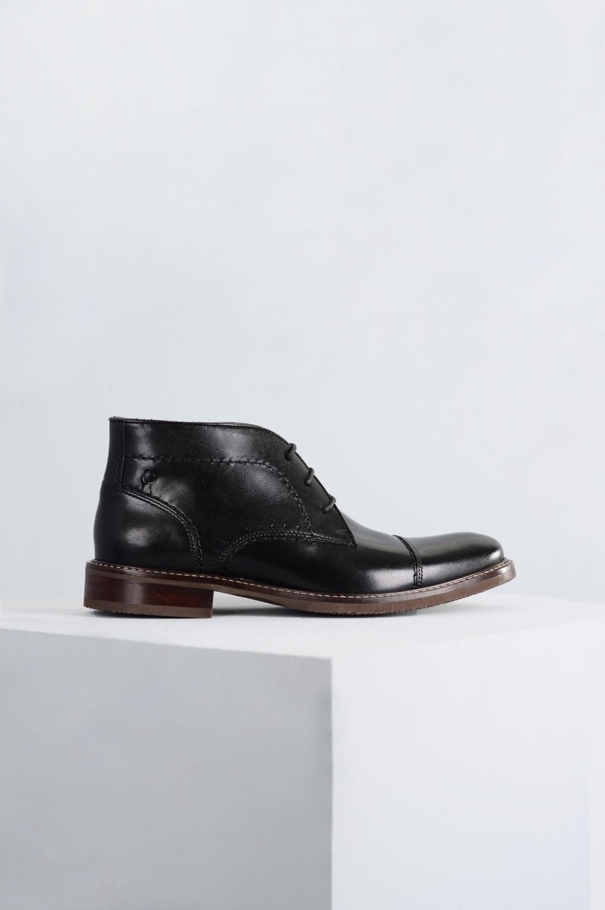 e869b0cb11a Bota Masculina Connor Democrata CR-PRETO - Mundial Calçados