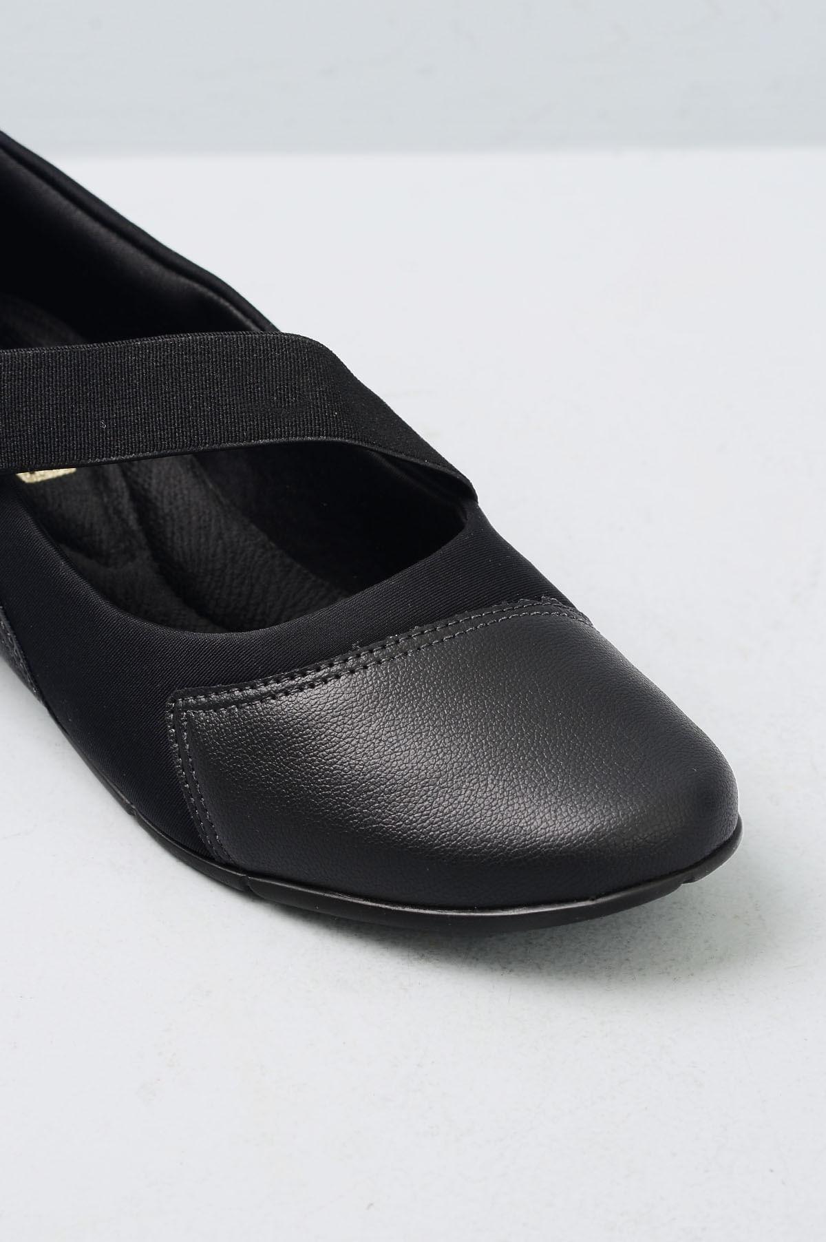 c672b30be Sapato Feminino Ultrasoft Comfort Flex SINT - PRETO - Mundial Calçados