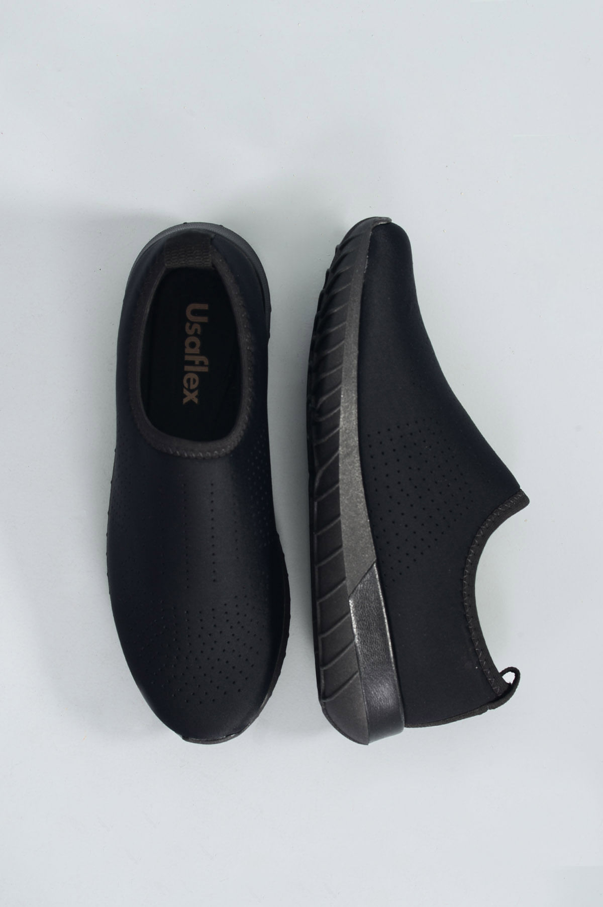 bfd6e7a3e Tênis Feminino Merye Usaflex TEC - PRETO - Mundial Calçados