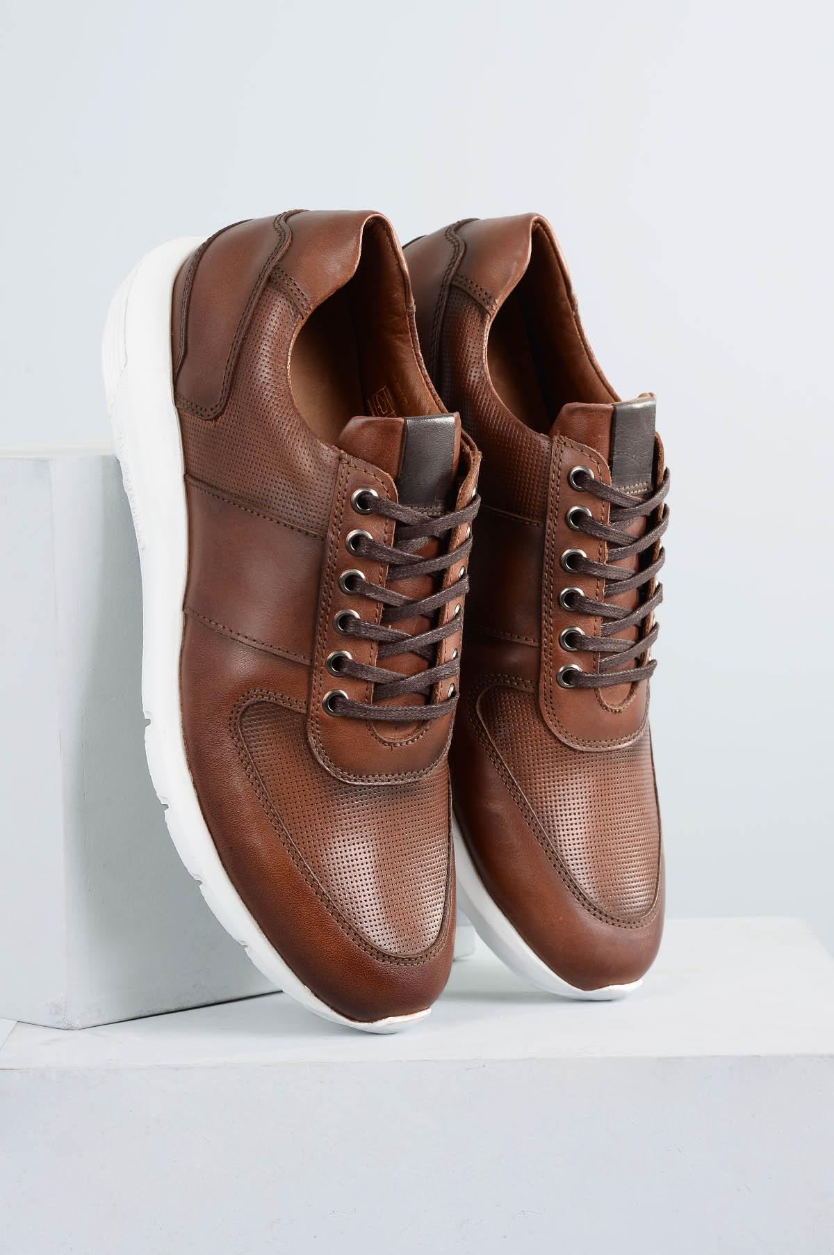 0ad0f37303b0c Sapatênis Masculino Edson Mundial CR - CAFE - Mundial Calçados
