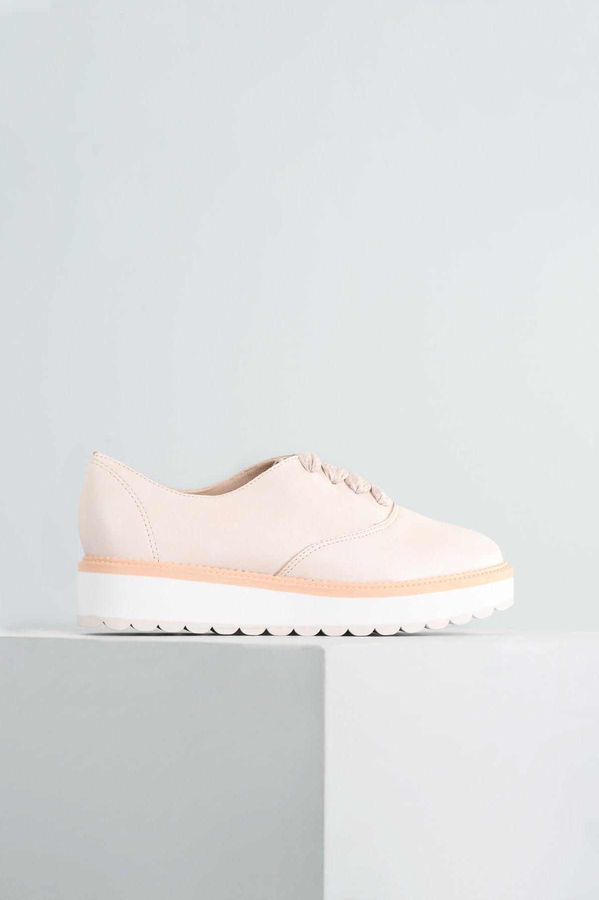 bd627559ea Oxford Feminino Geany Beira Rio SINT - OFF WHITE - Mundial Calçados