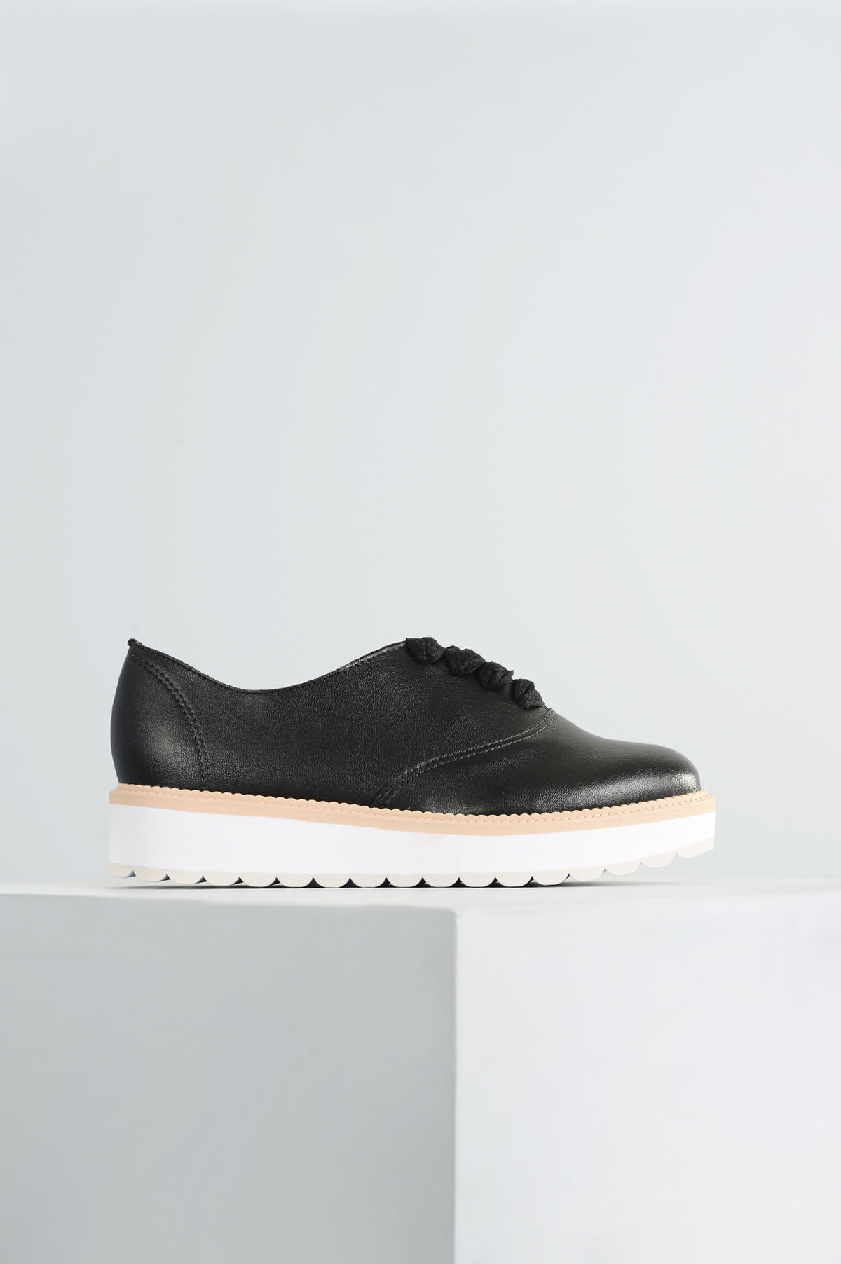 26131ff6ddd Oxford Feminino Geany Beira Rio SINT - PRETO - Mundial Calçados