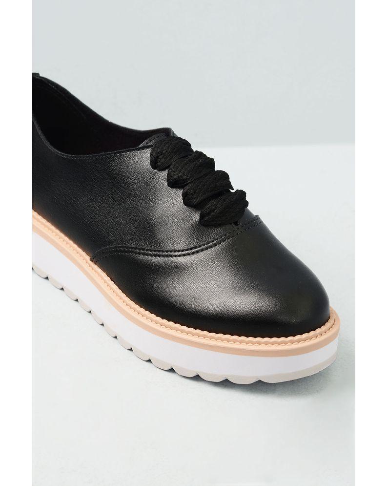 fbc7a70998 Oxford Feminino Geany Beira Rio SINT - PRETO - Mundial Calçados