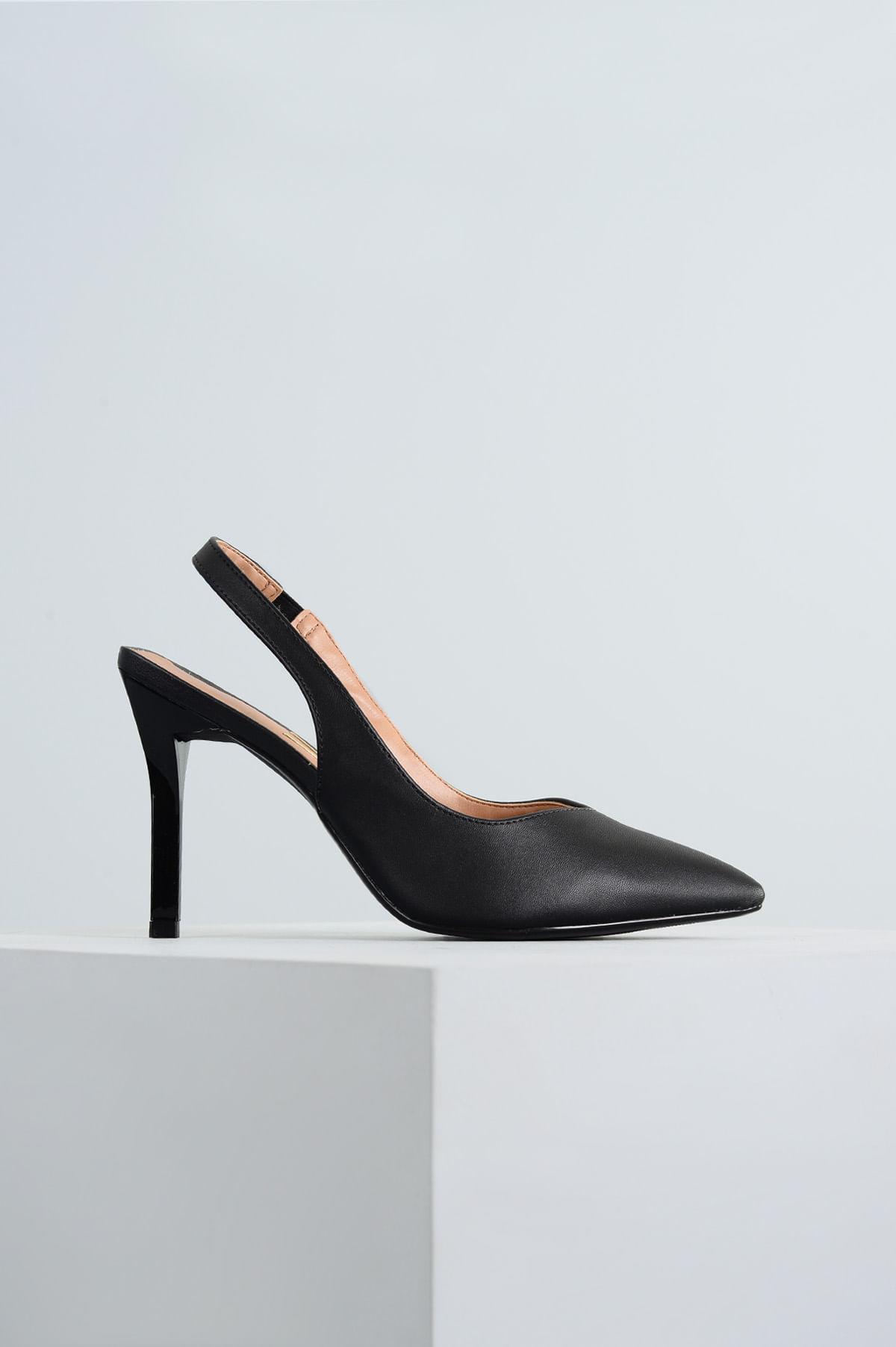 862be22395 Sapato Salto Alto Ingridi Vizzano SINT - PRETO - Mundial Calçados