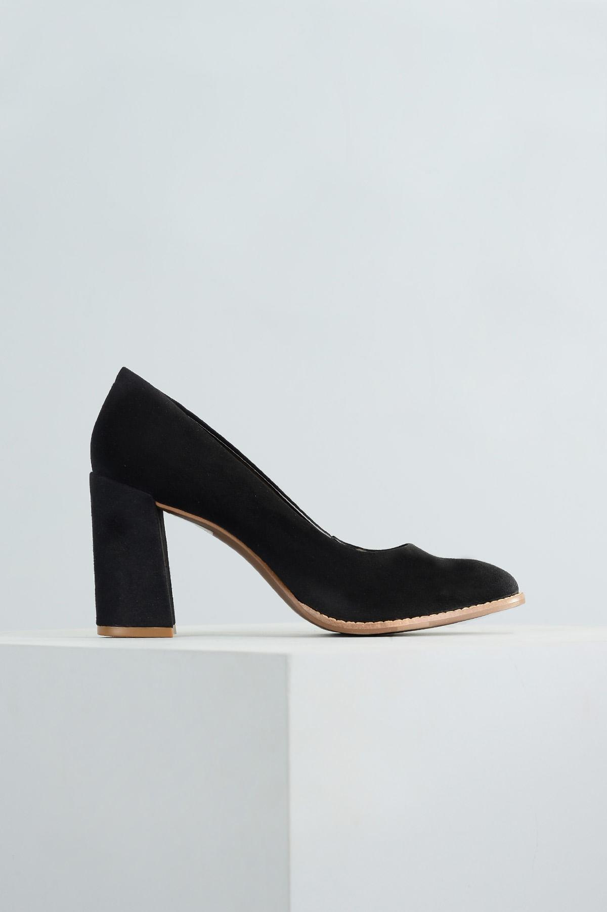 134e3a1998 Sapato Feminino Salto Alto Blaise Mundial CAM - PRETO - Mundial Calçados