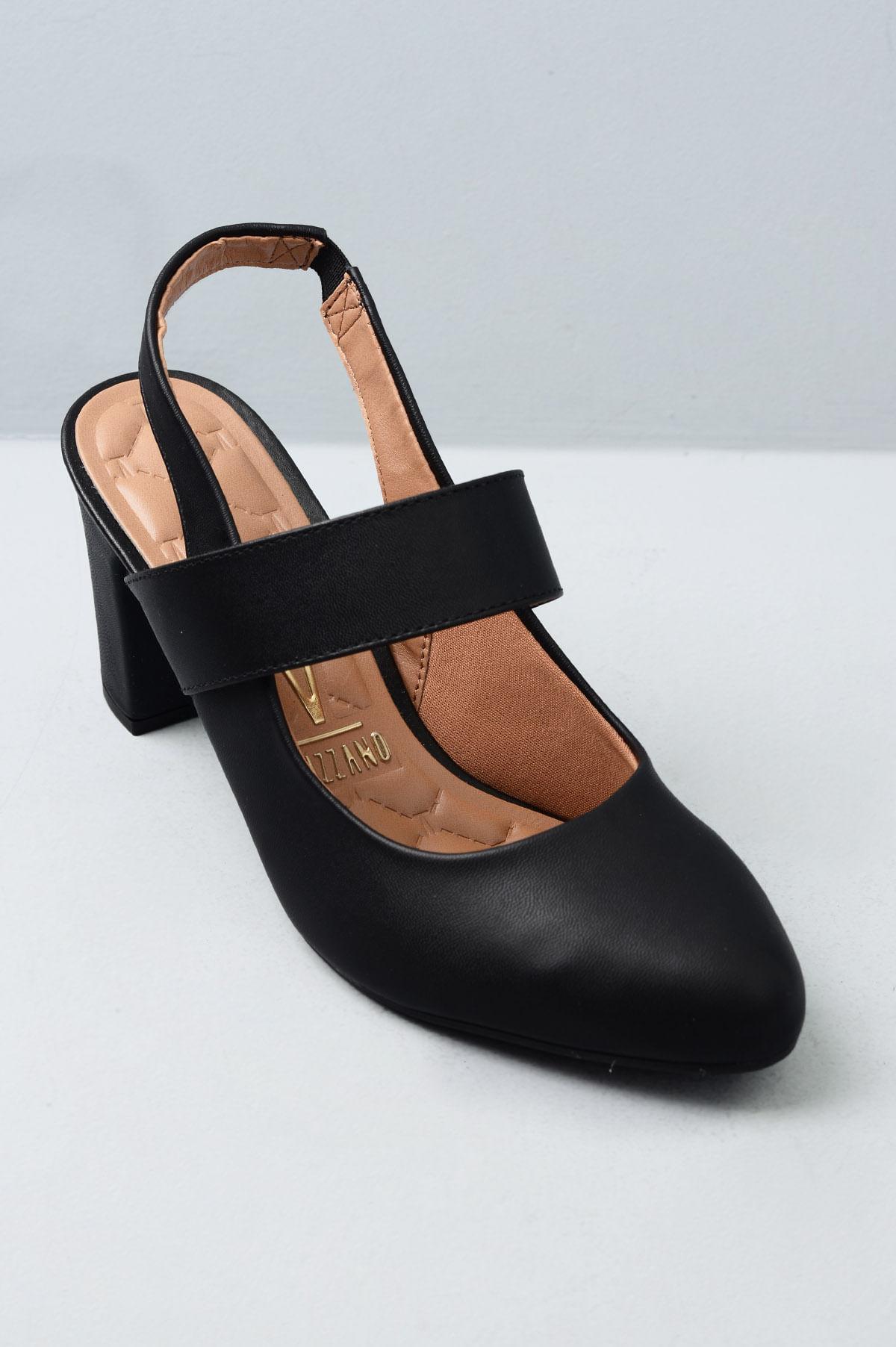 f47971d9c Sapato Salto Alto Heleny Vizzano SINT - PRETO - Mundial Calçados