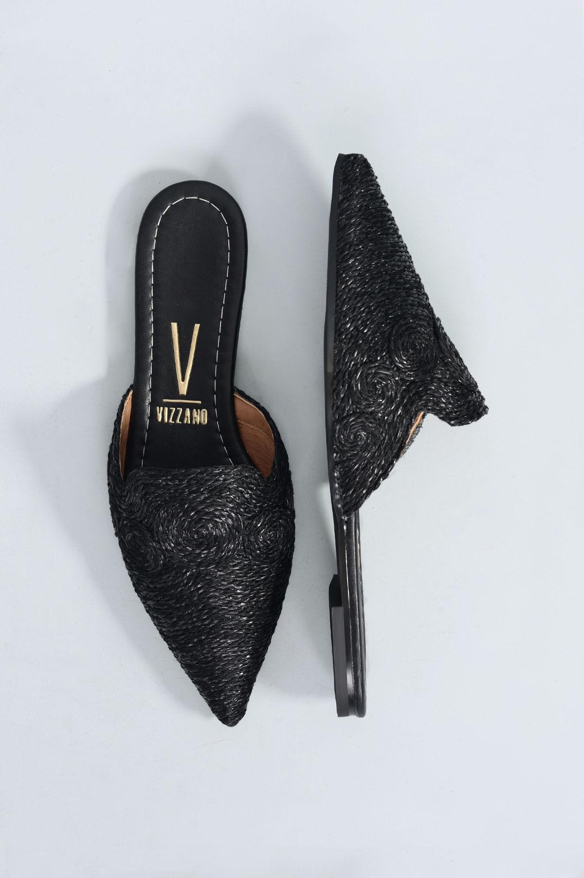 188c6ca8eb Mule Feminino Melina Vizzano DIVERSOS - PRETO - Mundial Calçados