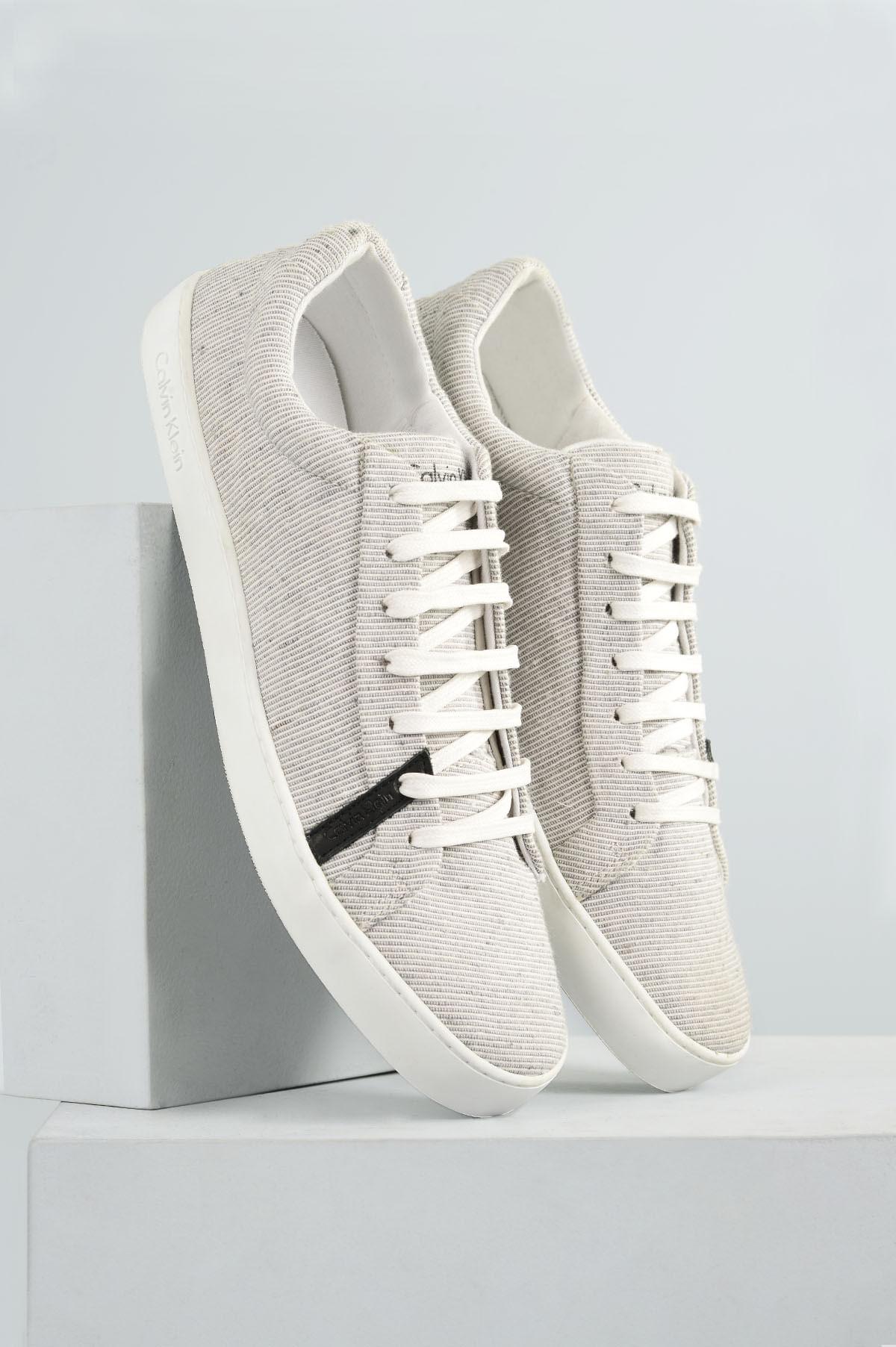 e17db152e14 Sapatênis Calvin Klein Jonathan TEC - CINZA - Mundial Calçados