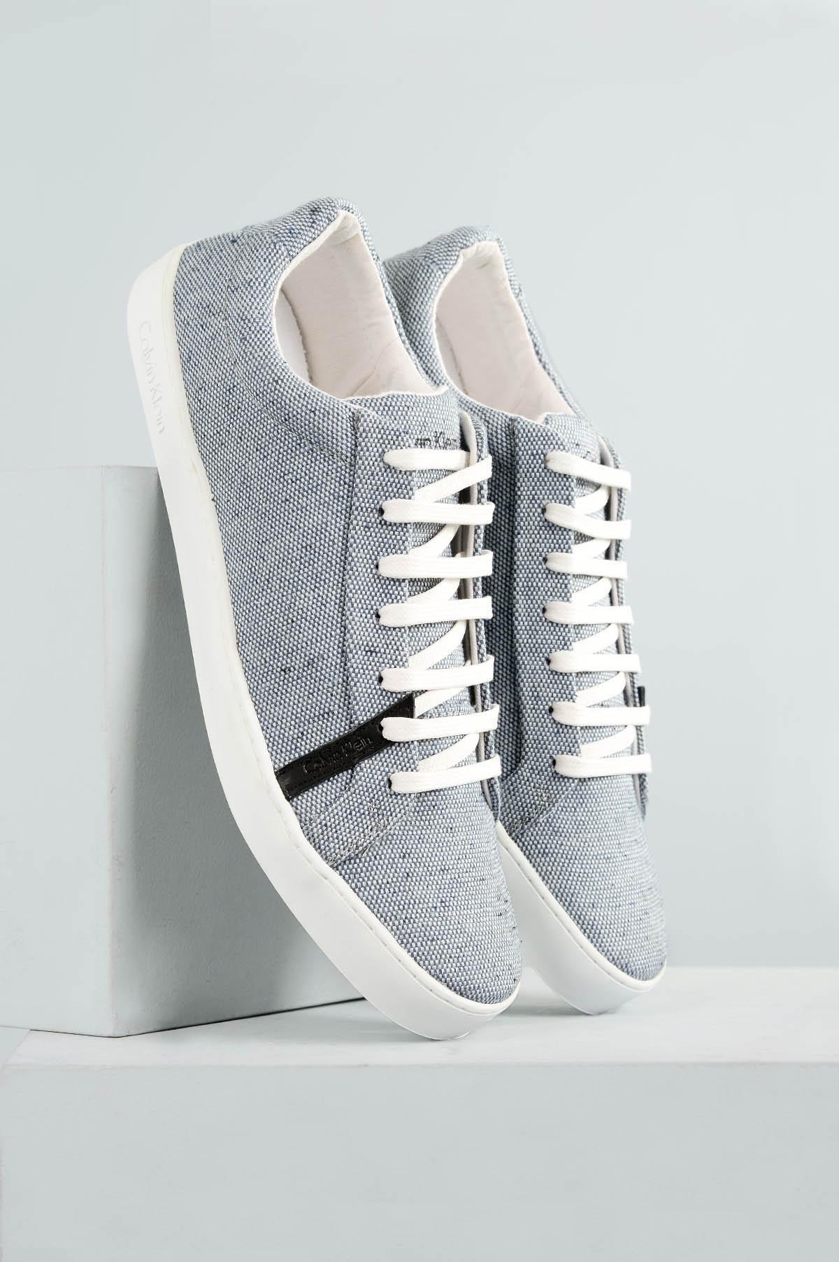 4c4e98e443e Sapatênis Calvin Klein Jonathan TEC - MARINHO - Mundial Calçados