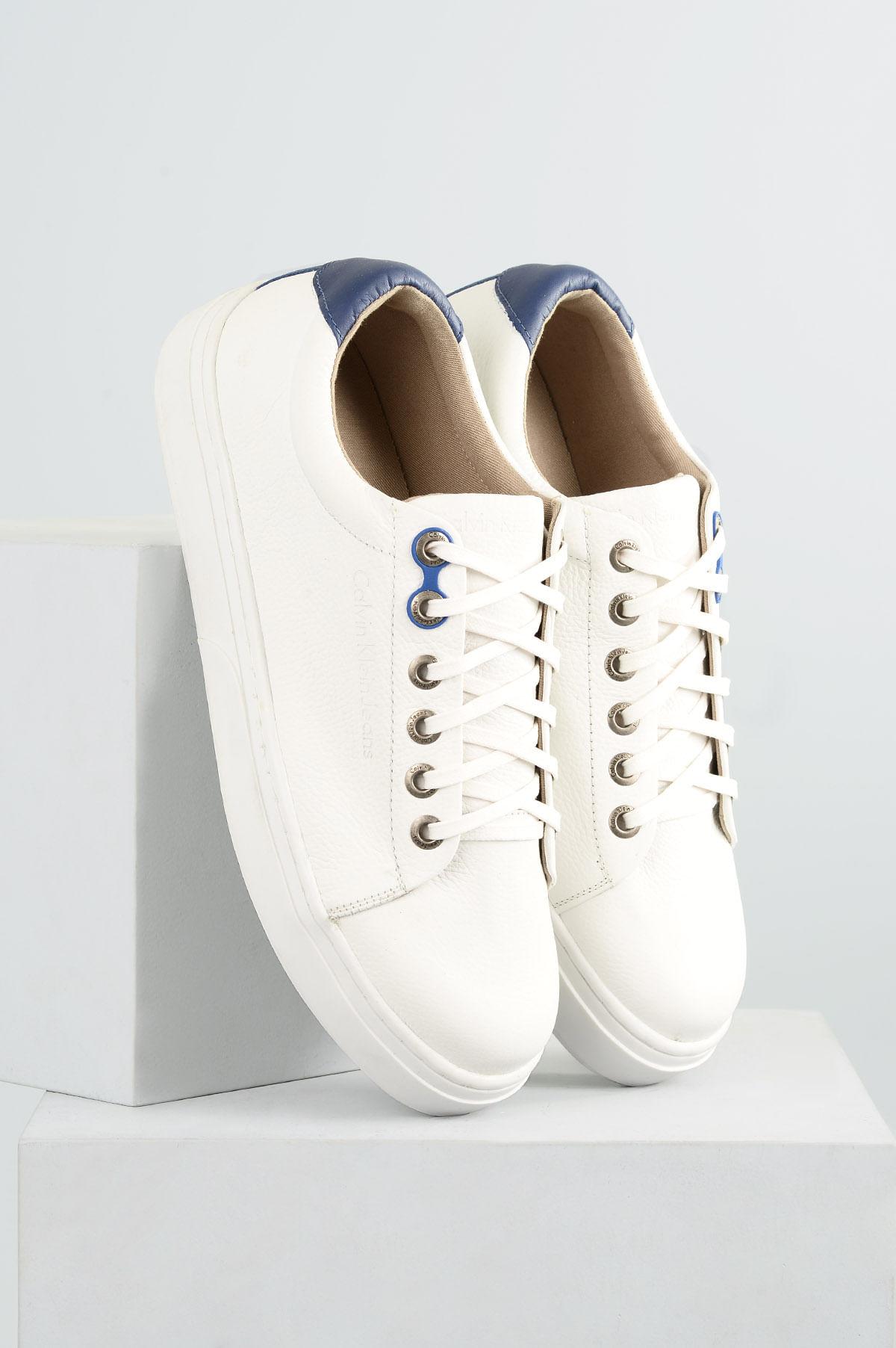 8746de40896 Sapatênis Masculino Calvin Klein Sergio CR-BRANCO - Mundial Calçados