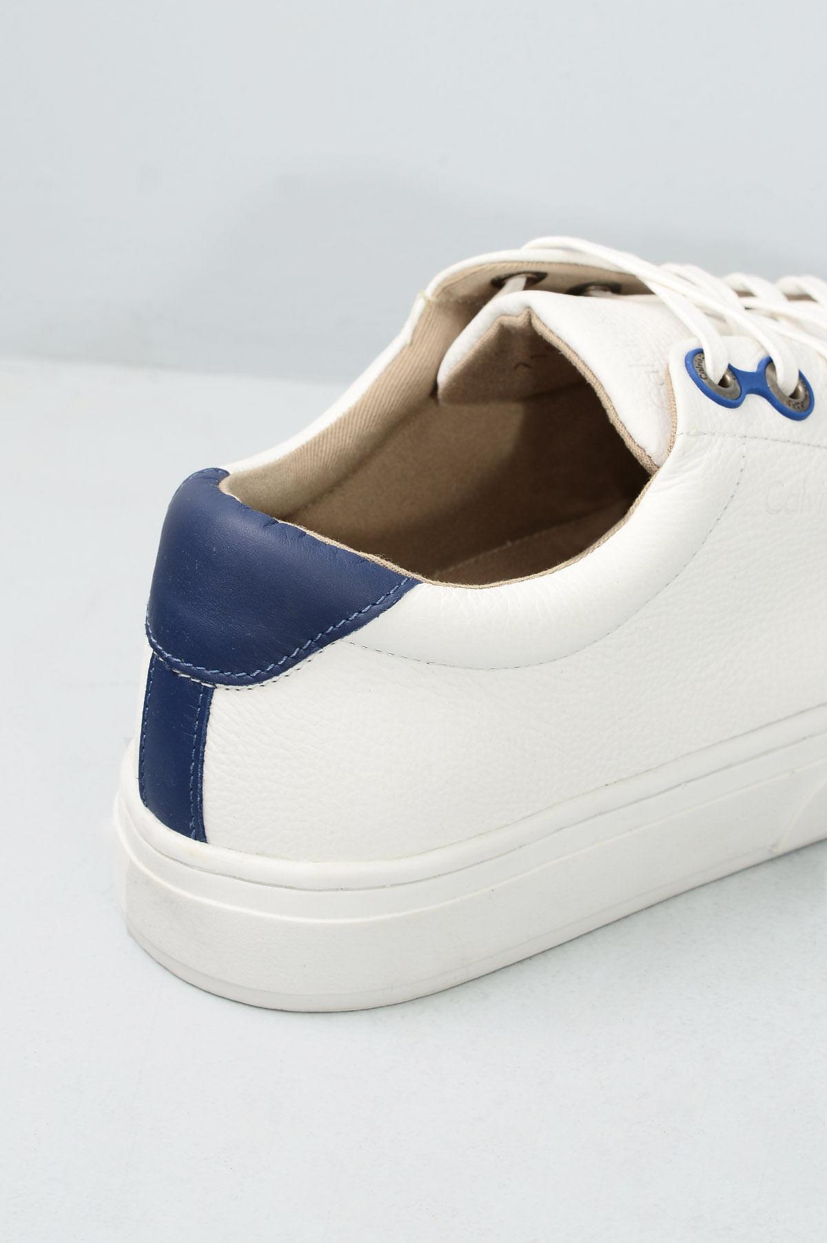 ff818d5cab5 Sapatênis Masculino Calvin Klein Sergio CR-BRANCO - Mundial Calçados