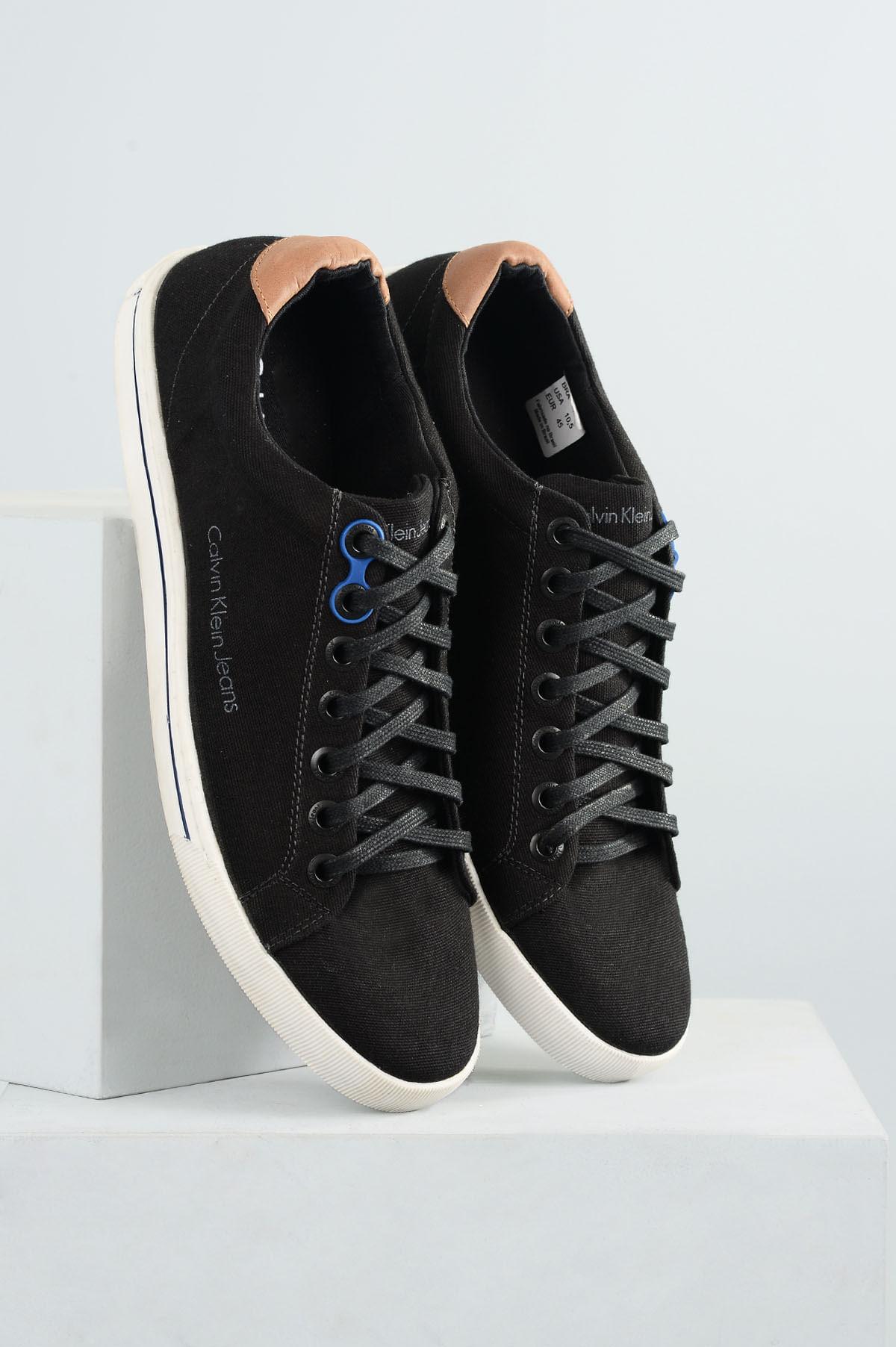 4483c5e5e1d Sapatênis Masculino Calvin Klein Enzo TEC - PRETO - Mundial Calçados