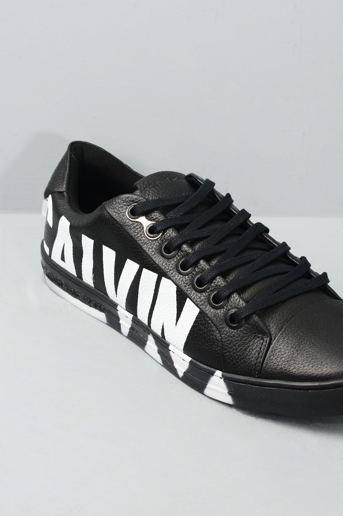 Sapatênis Masculino Calvin Klein Pedro CR-PRETO - Mundial Calçados 8826cb5373