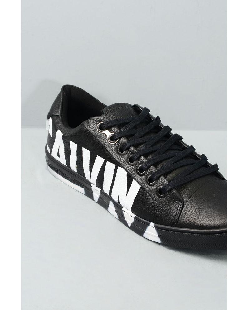 9cd1e83c66e Sapatênis Masculino Calvin Klein Pedro CR-PRETO - Mundial Calçados