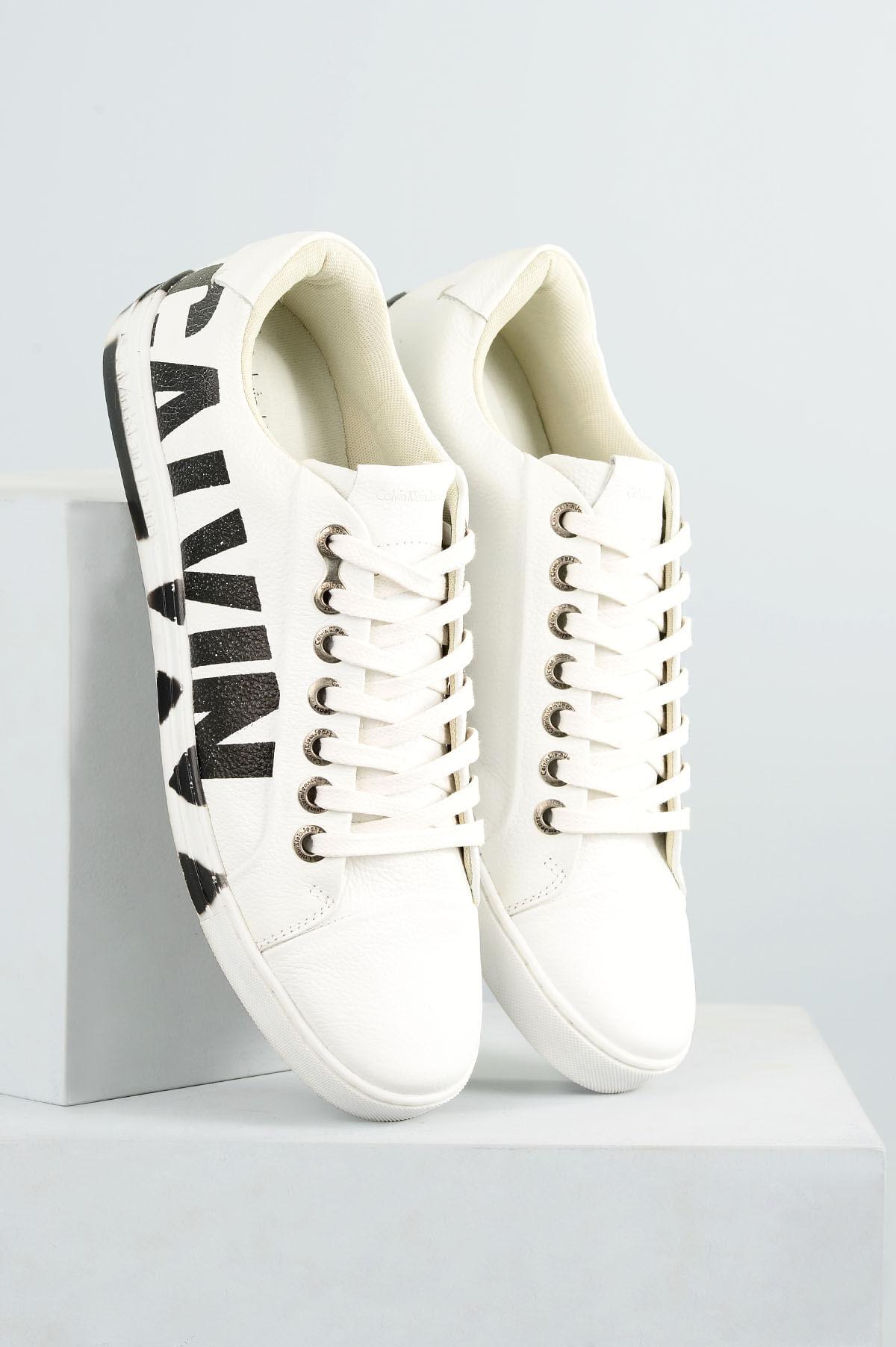 389ae9e2183 Sapatênis Masculino Calvin Klein Pedro CR-BRANCO - Mundial Calçados