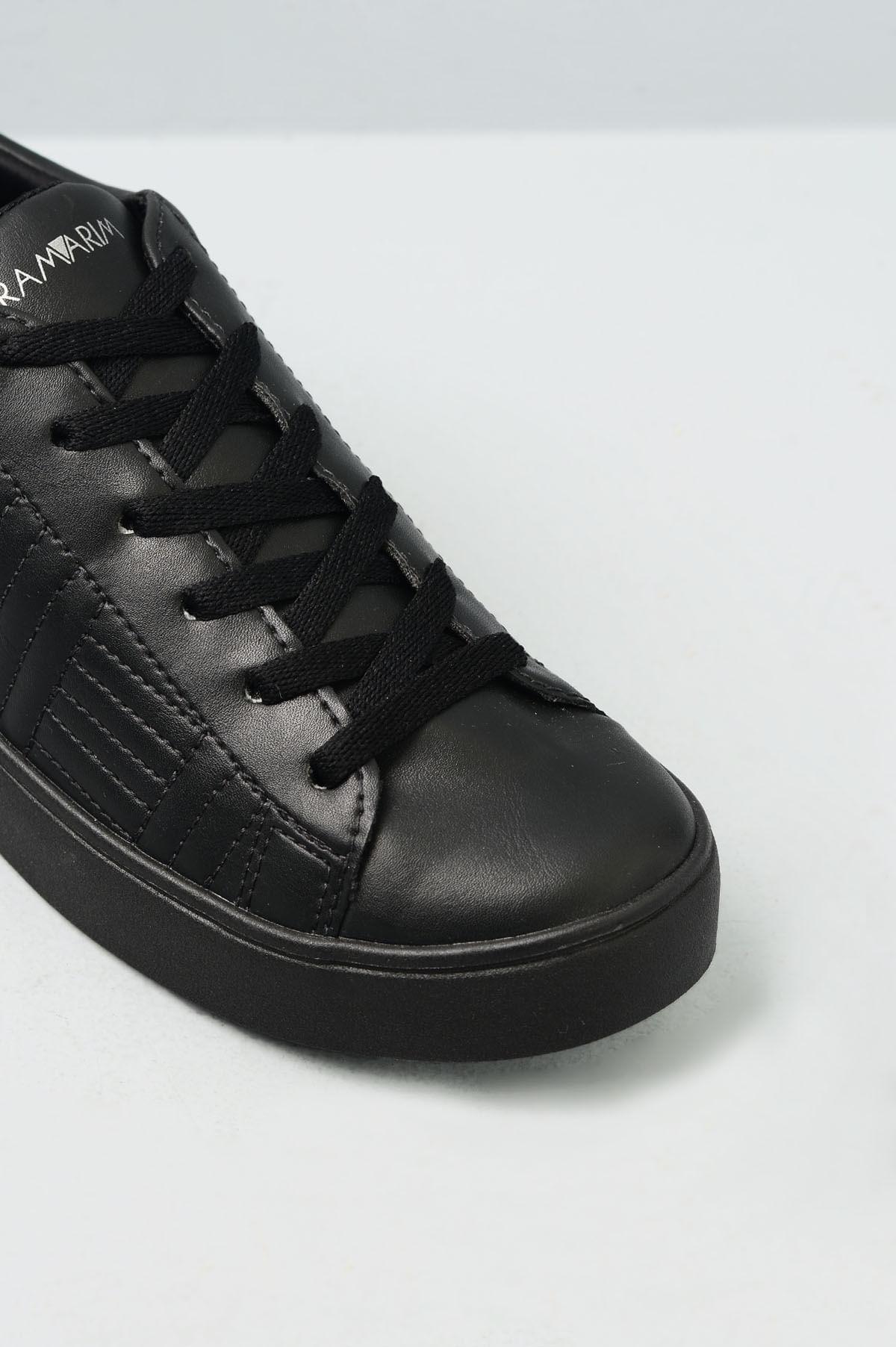f71b8baa6b Tênis Feminino Plataforma Foster Ramarim SINT - PRETO - Mundial Calçados