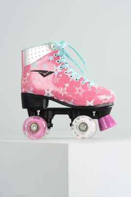 1_Patins_Bouts_Skid_Led_Stars_DIVERSOS_PINK