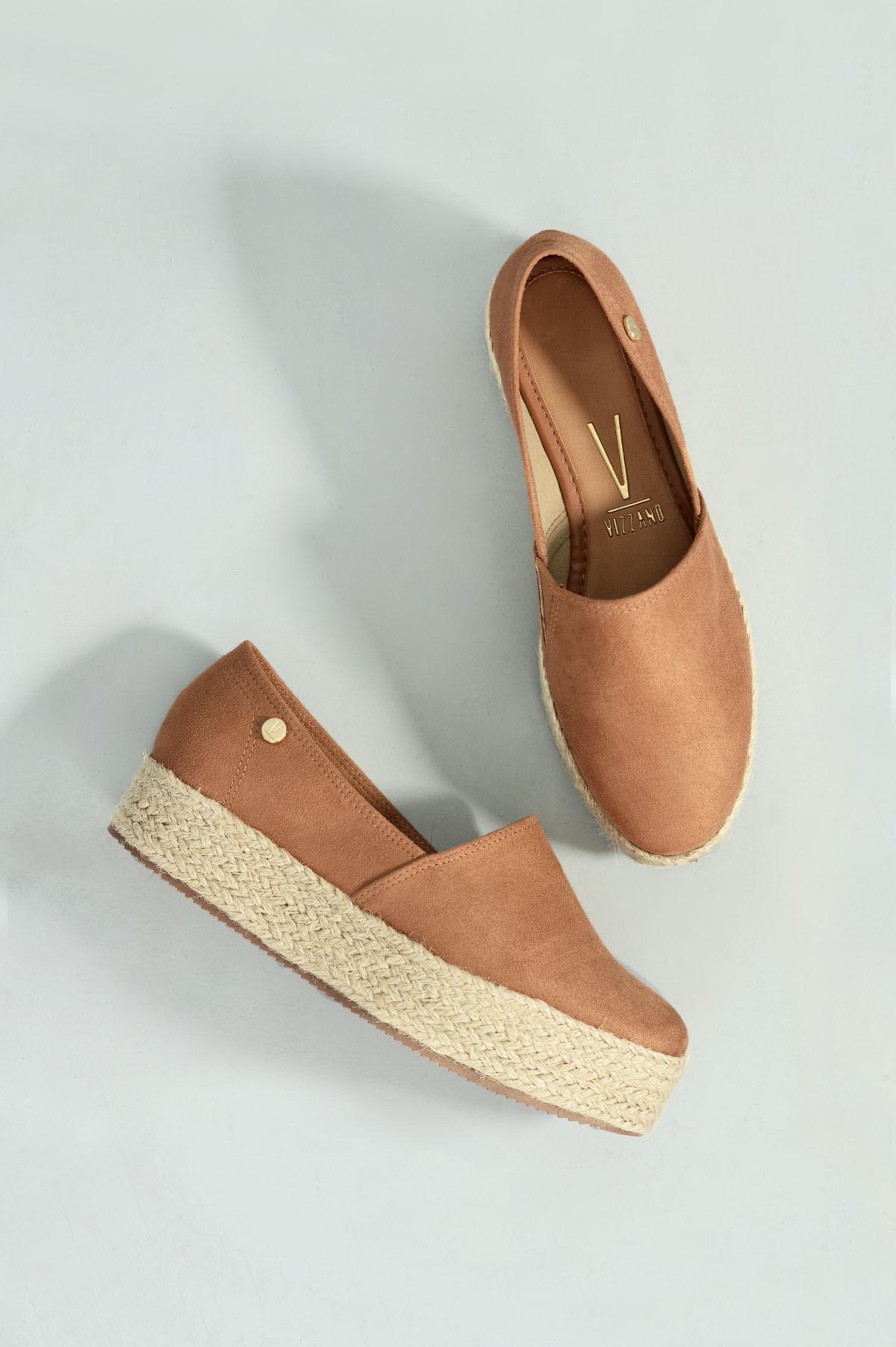 687c4d0cab Sapato Feminino Espadrille Rudye Vizzano CAM - WHISKY - Mundial Calçados