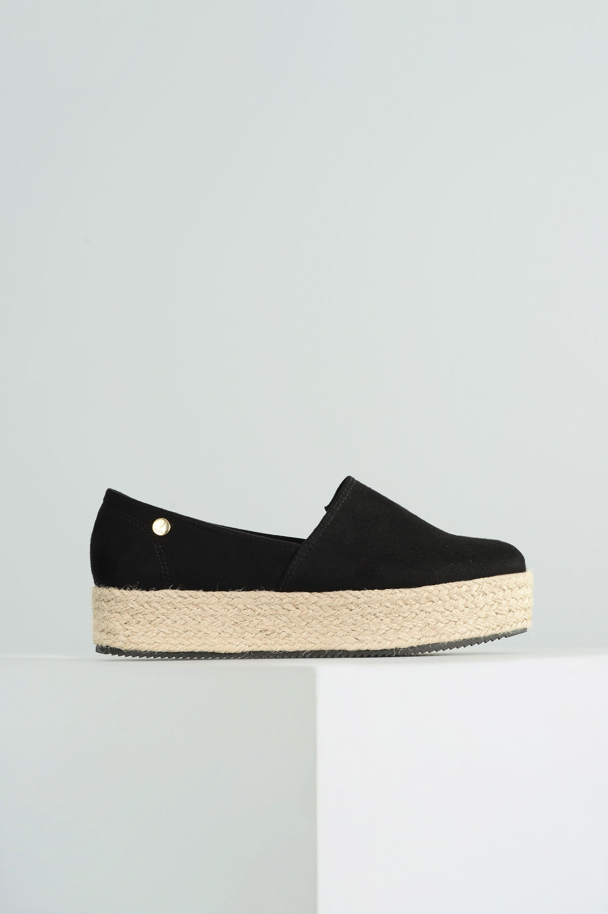 c0174656ad Sapato Feminino Espadrille Rudye Vizzano CAM - PRETO - Mundial Calçados
