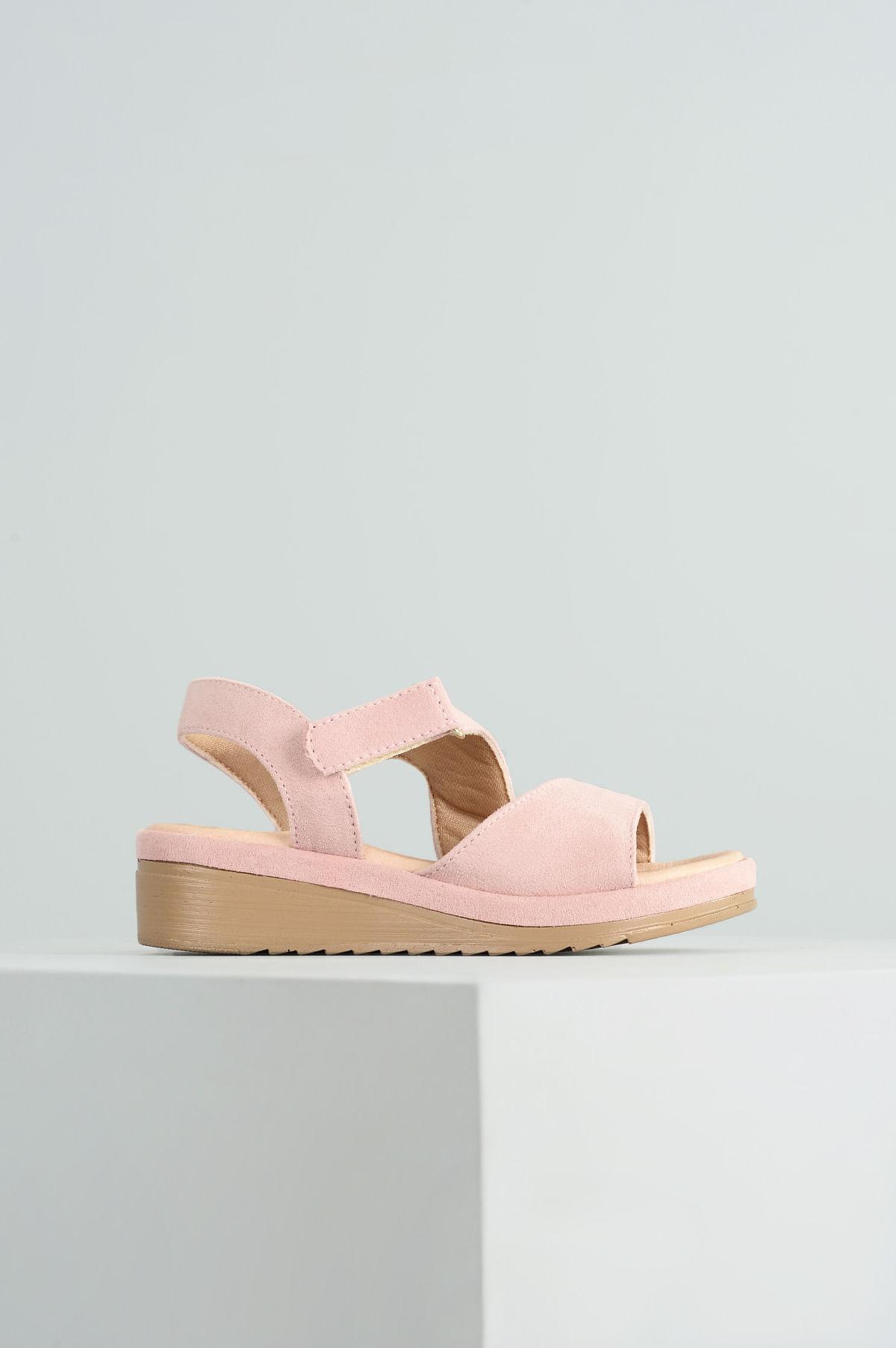 e6d1631f45 Sandália Infantil Anabela Monica Mundial CAM - ROSA - Mundial Calçados